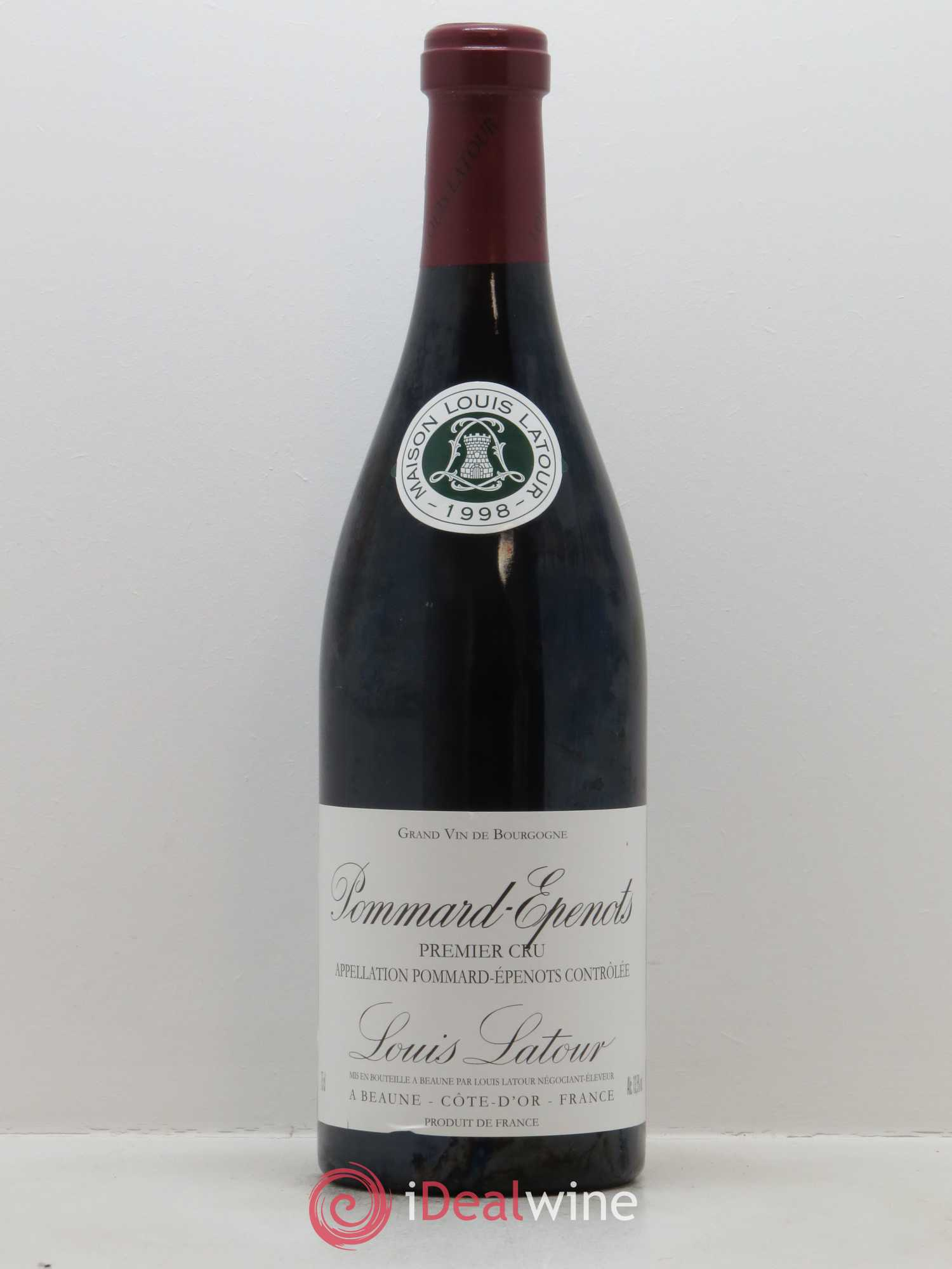 Pommard 1er Cru Les Epenots Louis Latour  1998 - Lot of 1 Bottle