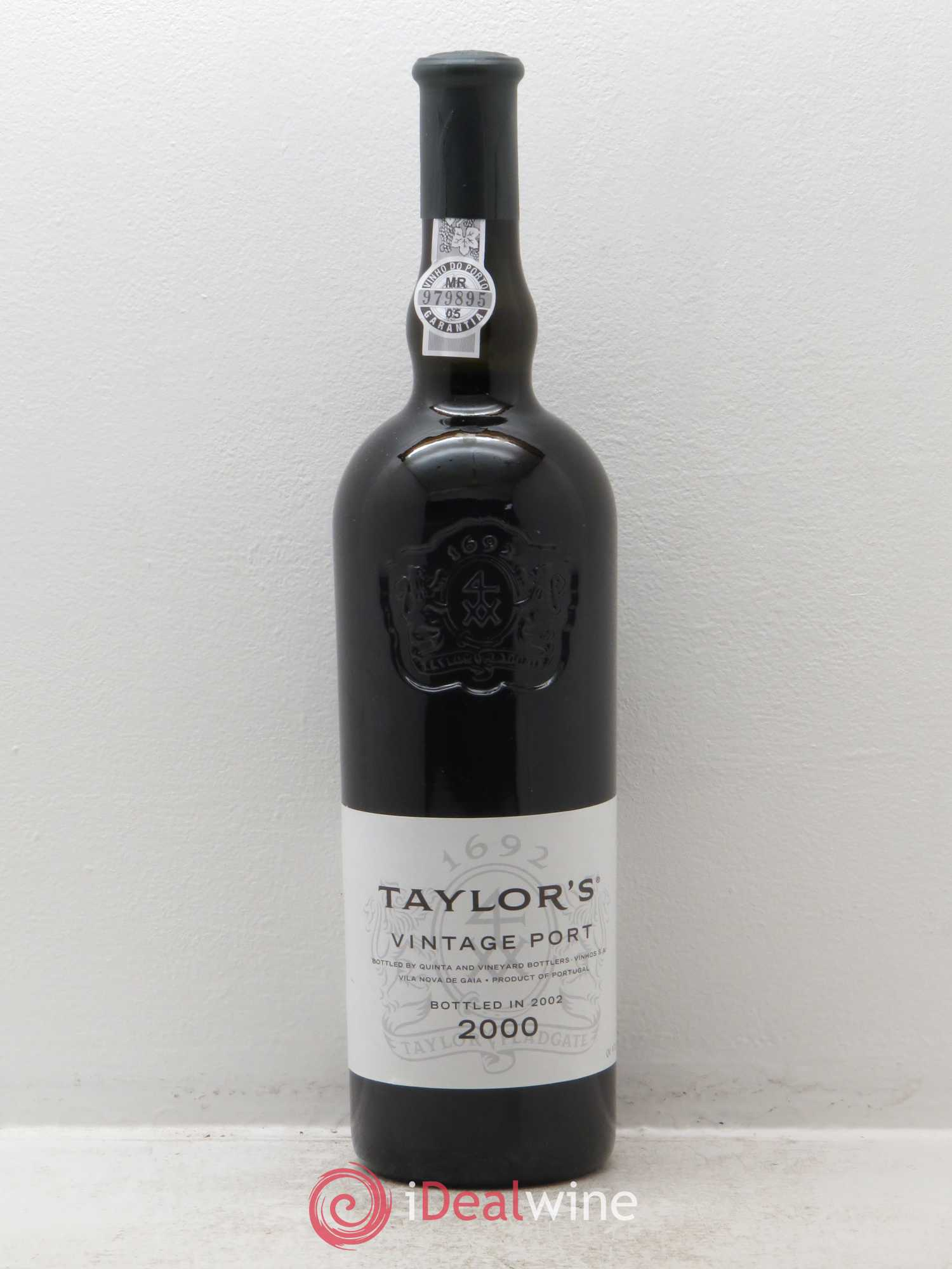 Porto Taylor's Vintage  2000 - Lot of 1 Bottle