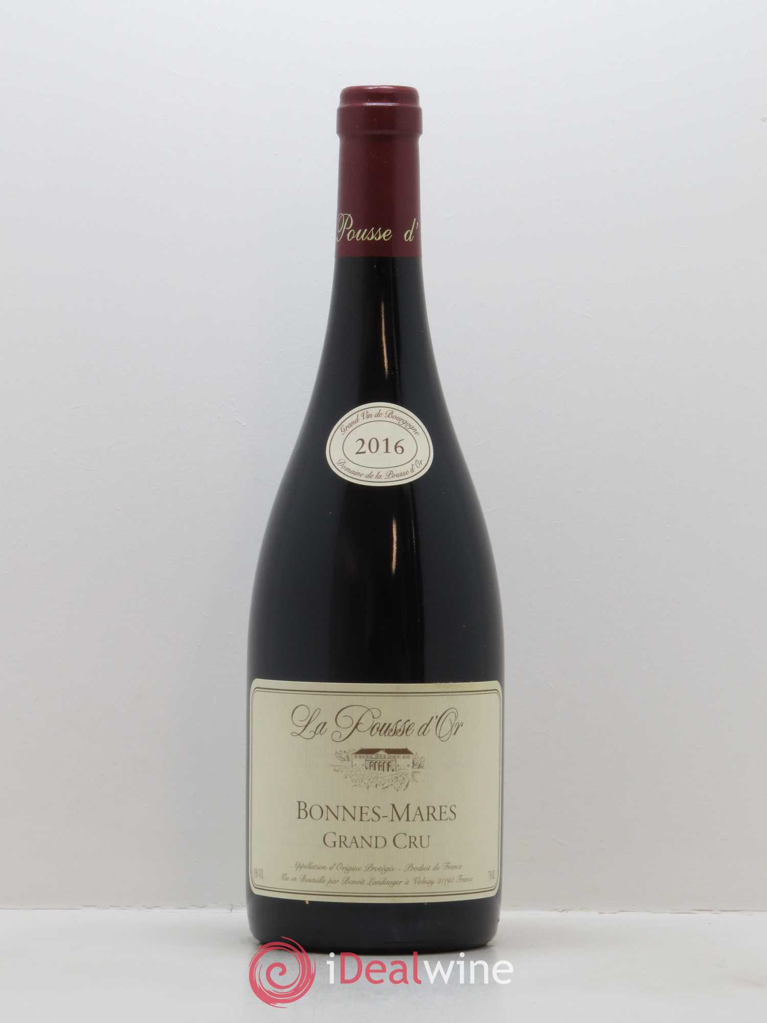 Bonnes-Mares Grand Cru La Pousse d'Or (Domaine de)  2016 - Lot of 1 Bottle