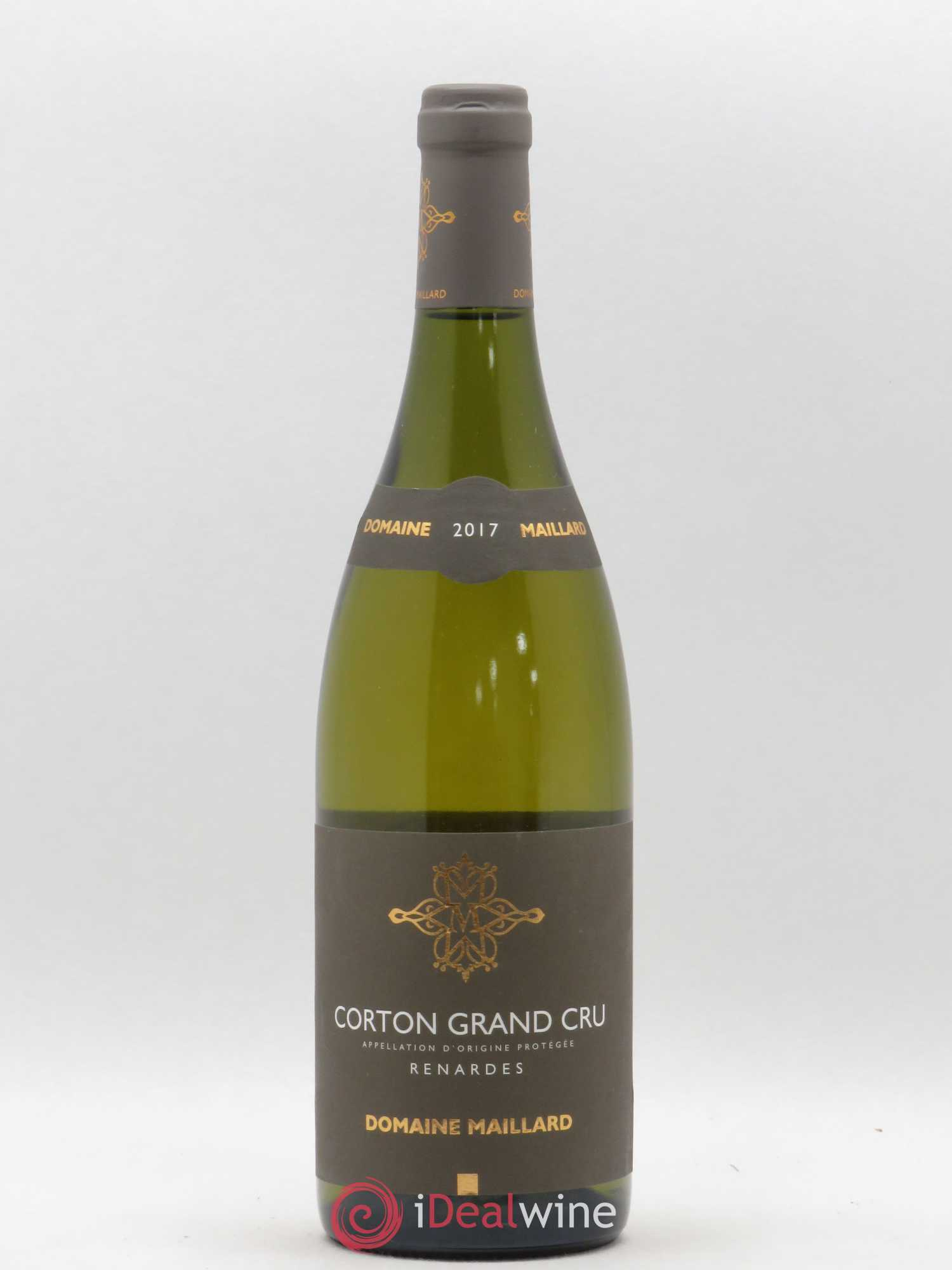 Corton Grand Cru Renardes Domaine Maillard 2017 - Lot of 1 Bottle