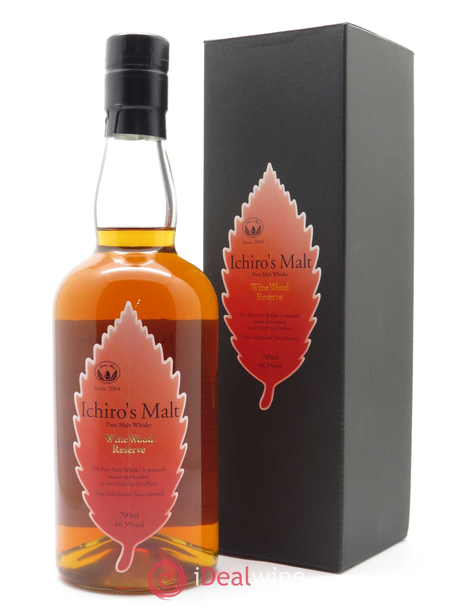 Whisky Wine Wood Reserve Ichiro's Malt (70cl)  - Lot de 1 Bouteille