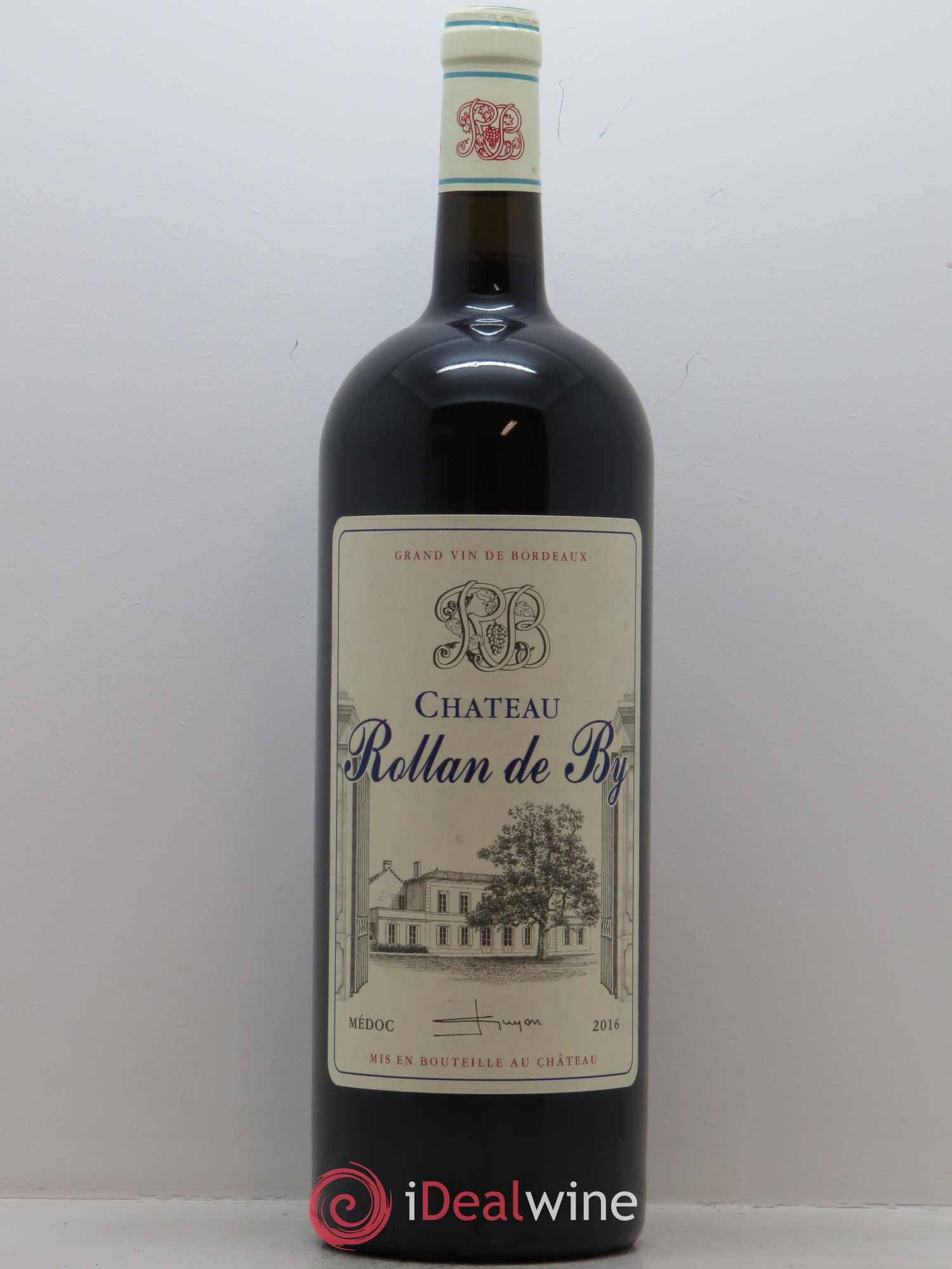 Château Rollan de By Cru Bourgeois  2016 - Lot of 1 Magnum