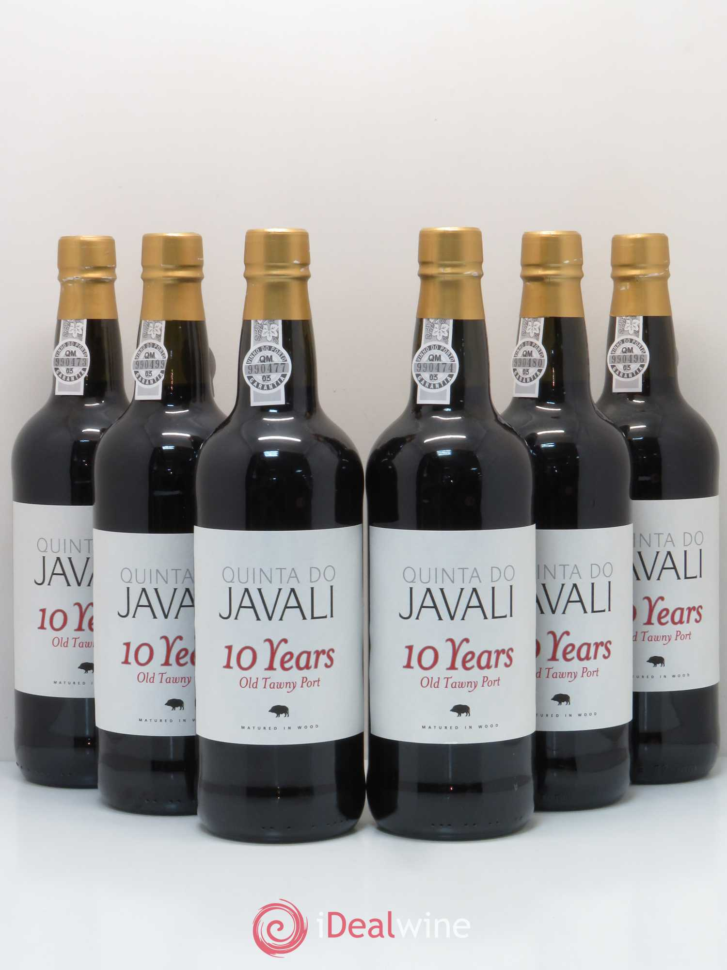 Porto Quinta do Javali 10 years Old Tawny Port  - Lot of 6 Bottles