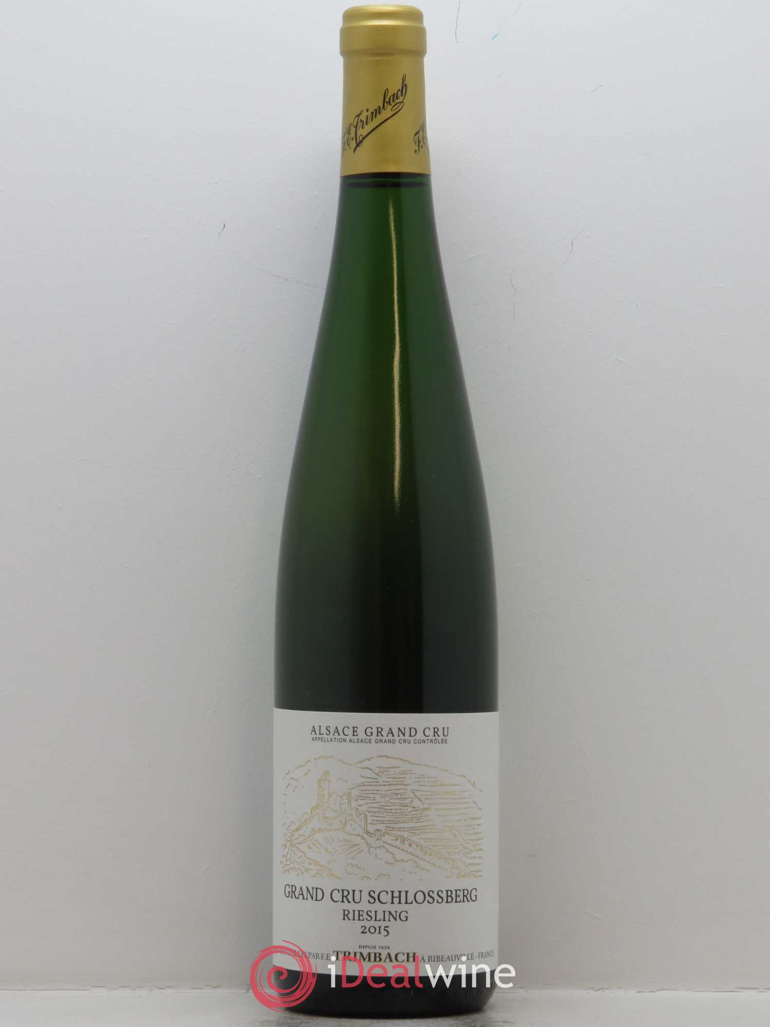 Riesling Grand Cru Schlossberg Trimbach (Domaine)  2015 - Lot of 1 Bottle