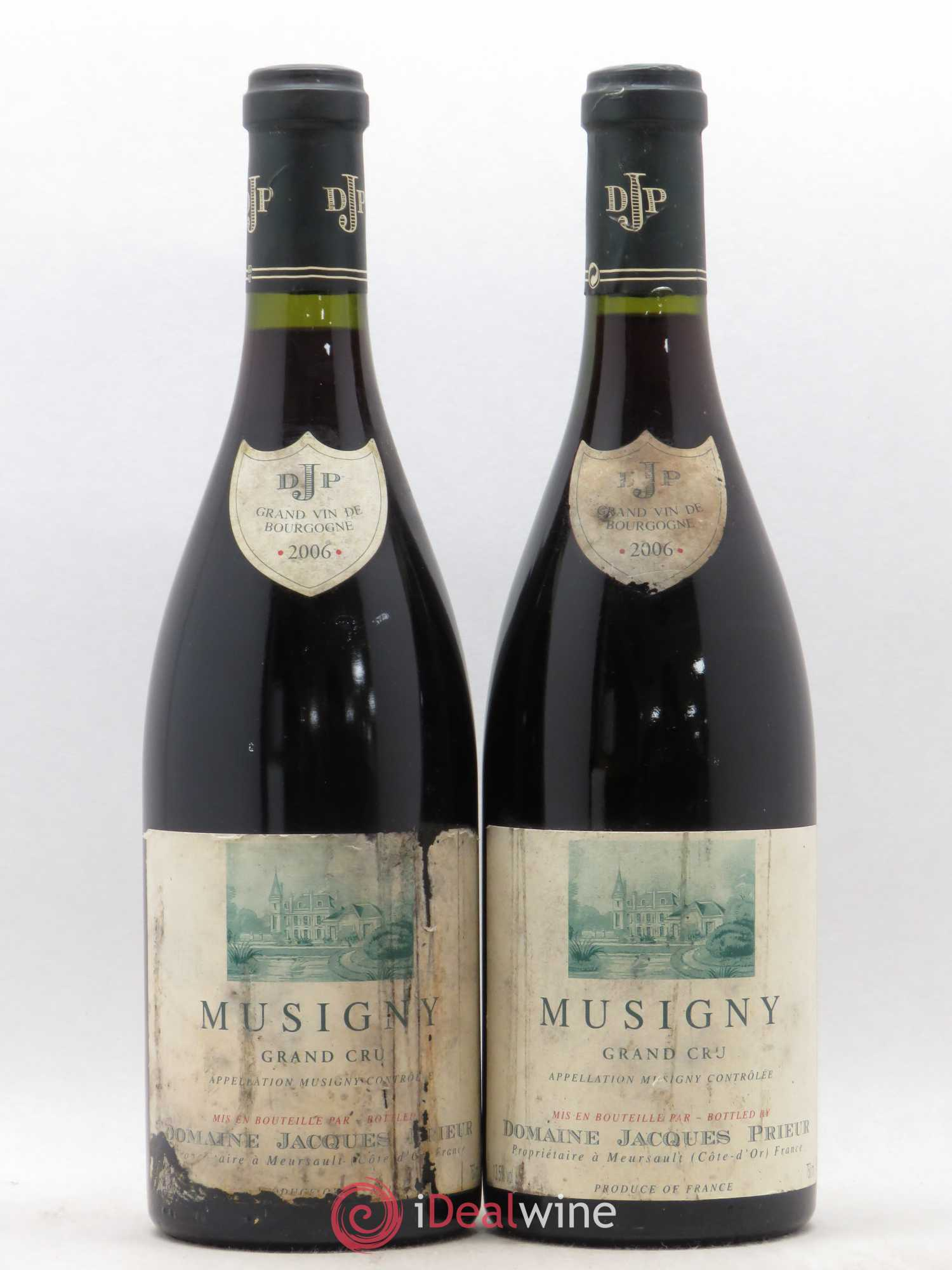 Musigny Grand Cru Jacques Prieur (Domaine)  2006 - Lot of 2 Bottles