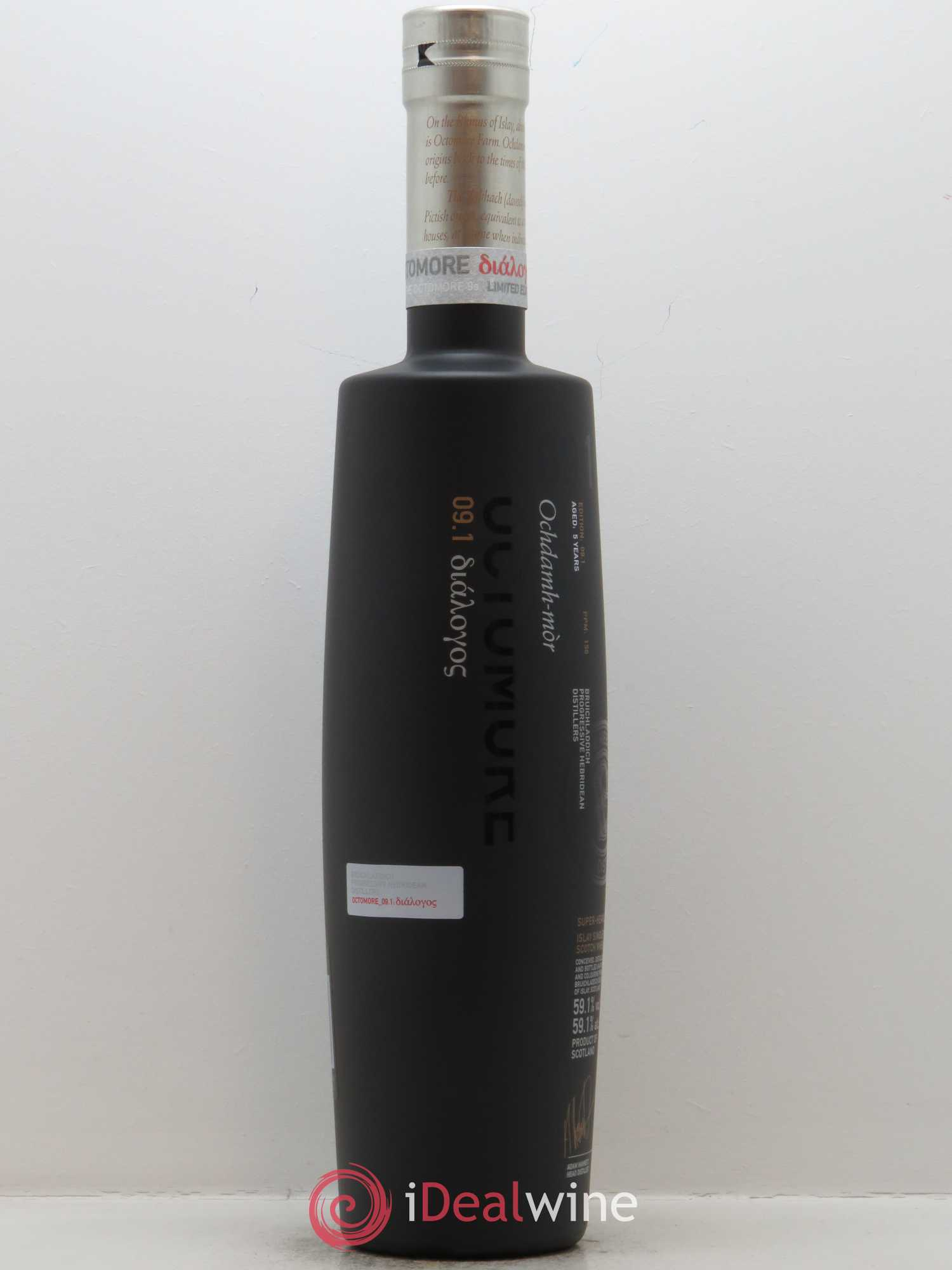 Whisky Octomore Edition 09.1 (70cl)  - Lot de 1 Bouteille