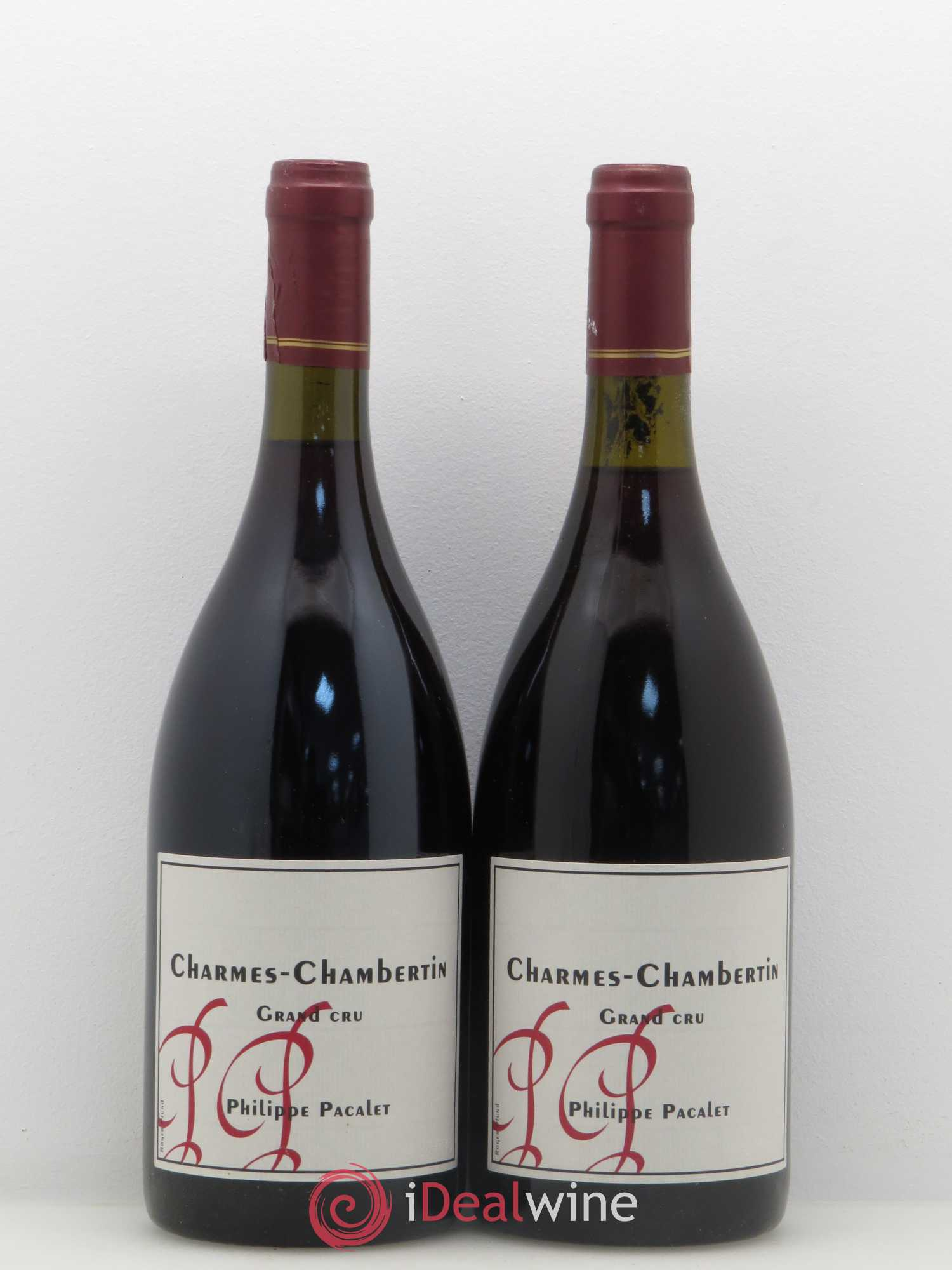 Charmes-Chambertin Grand Cru Pacalet 2004 - Lot of 2 Bottles