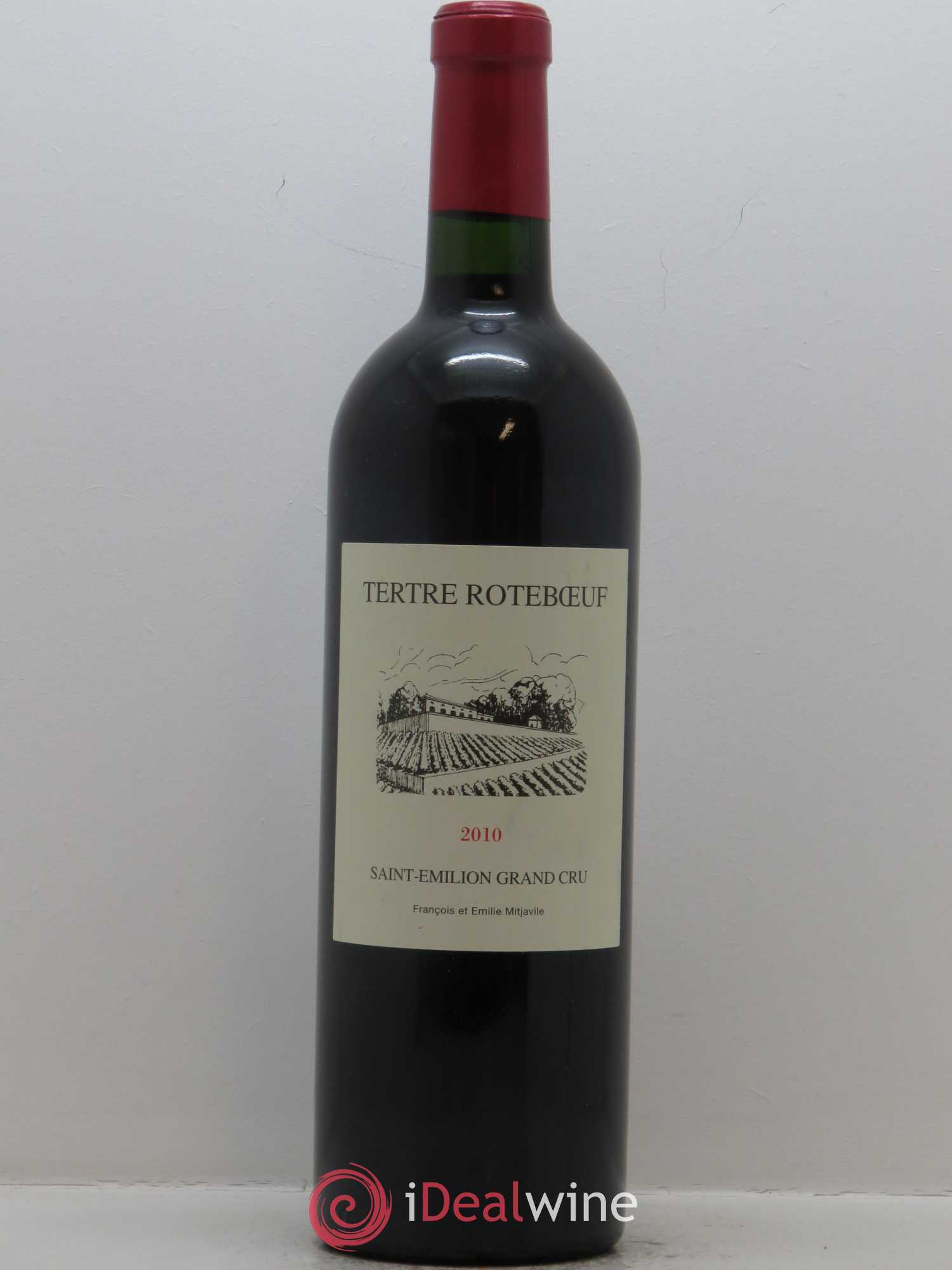 Château Tertre Roteboeuf Grand Cru  2010 - Lot of 1 Bottle