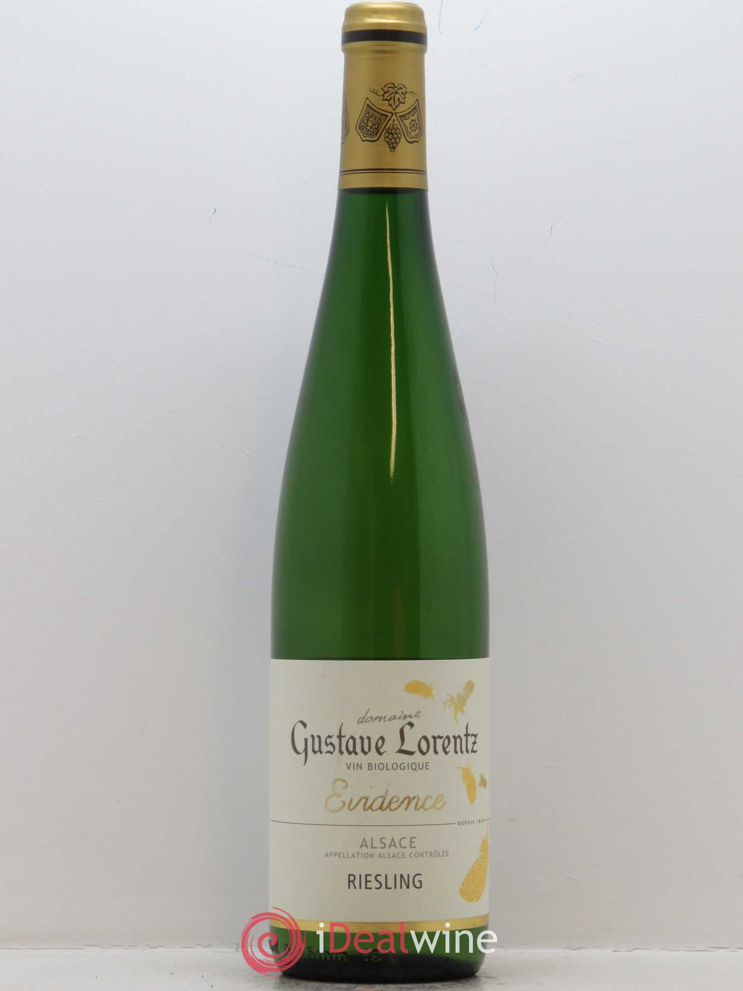 Riesling Evidence Gustave Lorentz  2016 - Lot de 1 Bouteille