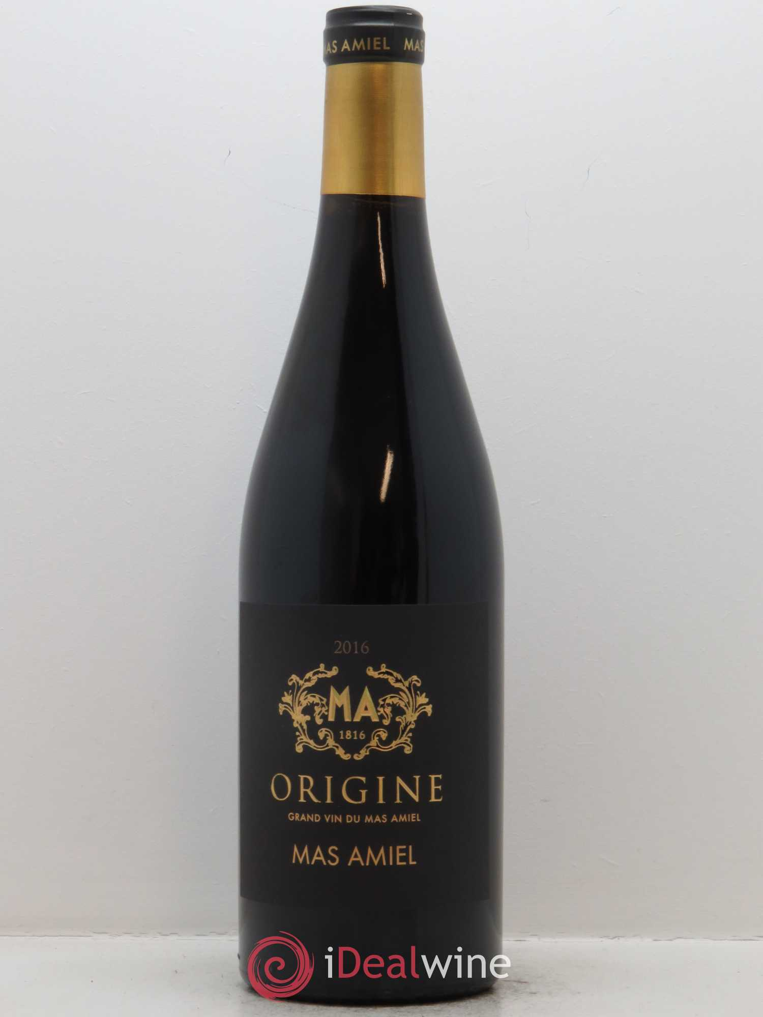 Côtes du Roussillon Mas Amiel Origine  2016 - Lot of 1 Bottle