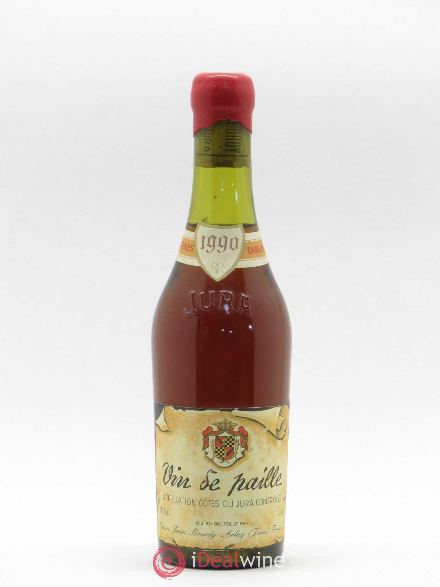 Côtes du Jura Vin de Paille Jean Bourdy  1990 - Lot of 1 Half-bottle
