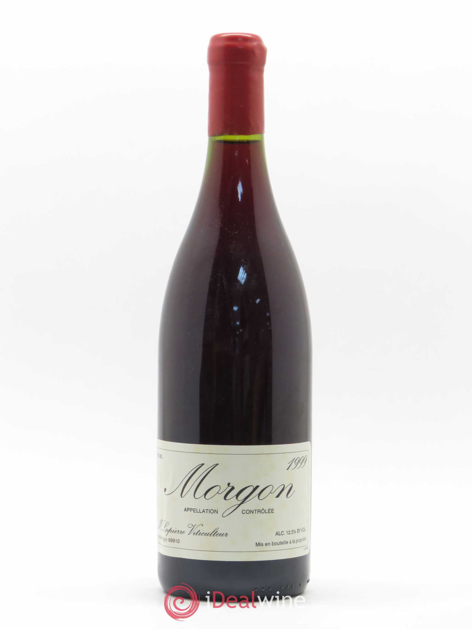 Morgon Marcel Lapierre (Domaine)  1999 - Lot of 1 Bottle