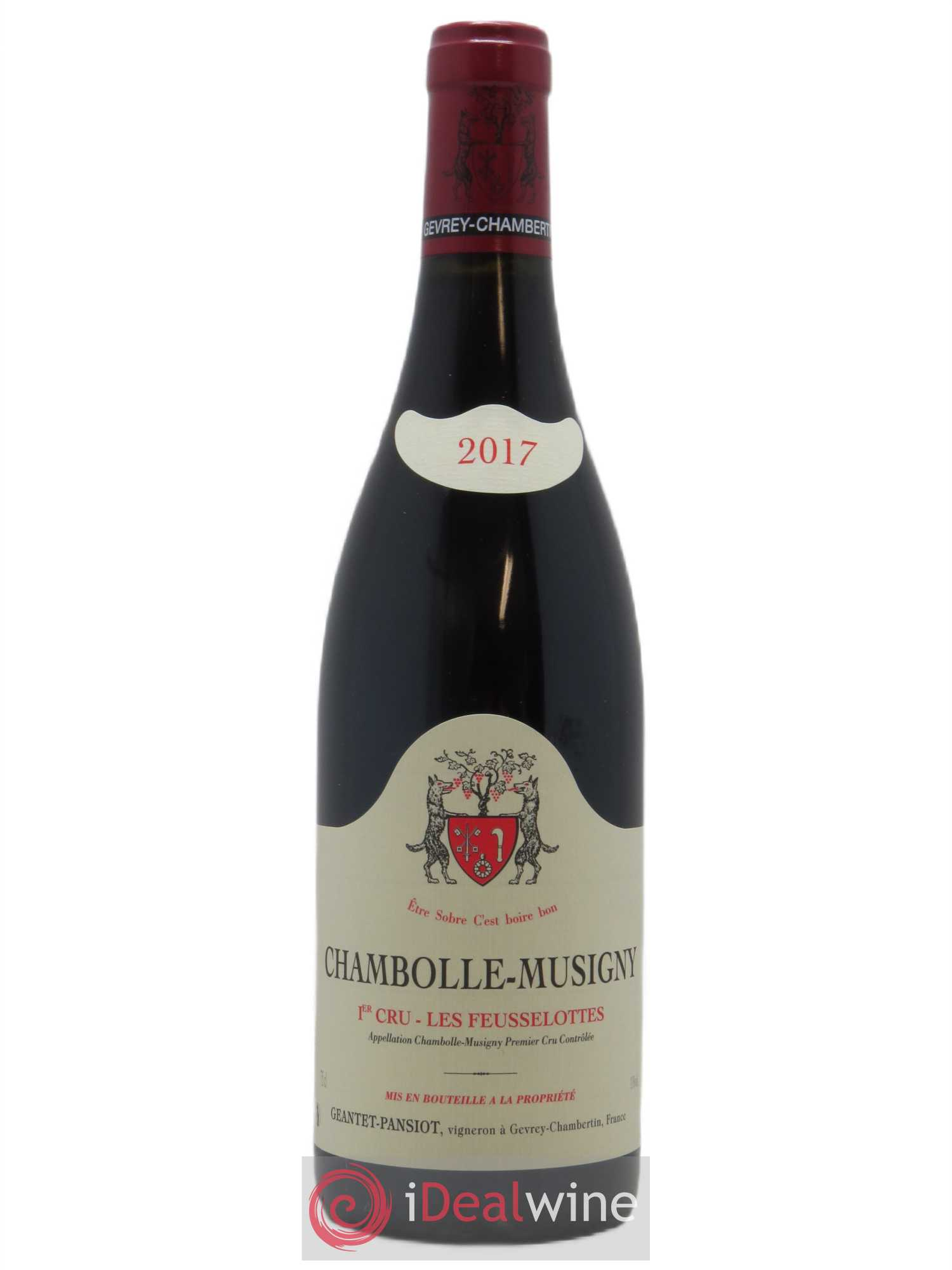 Chambolle-Musigny 1er Cru Les Feusselottes Geantet-Pansiot  2017 - Lot of 1 Bottle