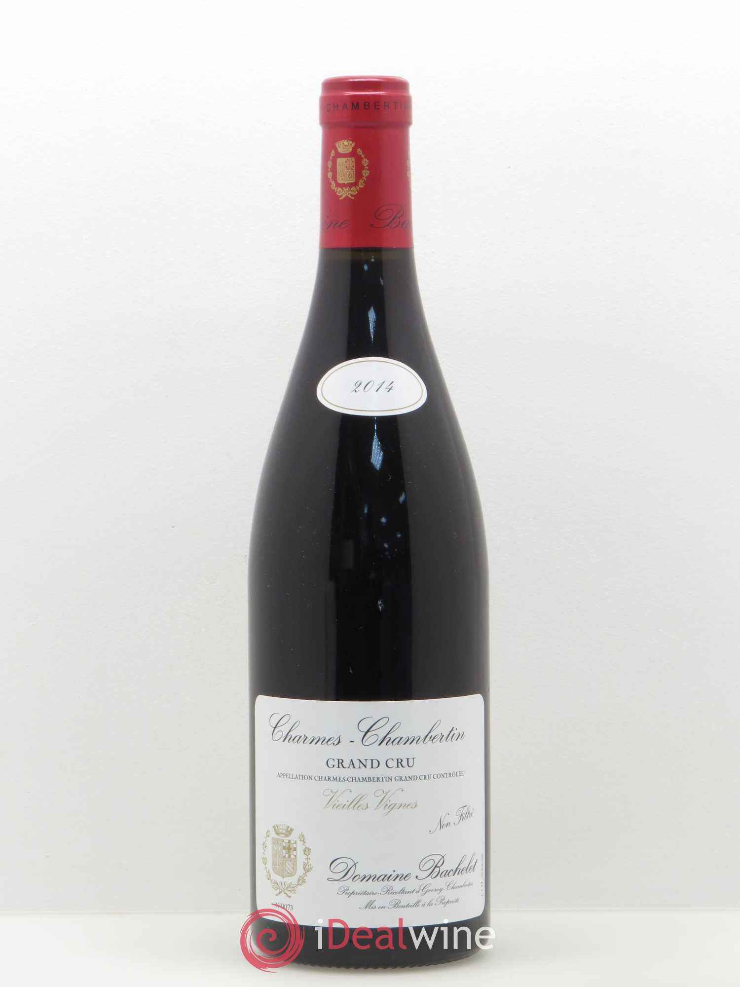 Charmes-Chambertin Grand Cru Denis Bachelet Vieilles Vignes 2014 - Lot of 1 Bottle