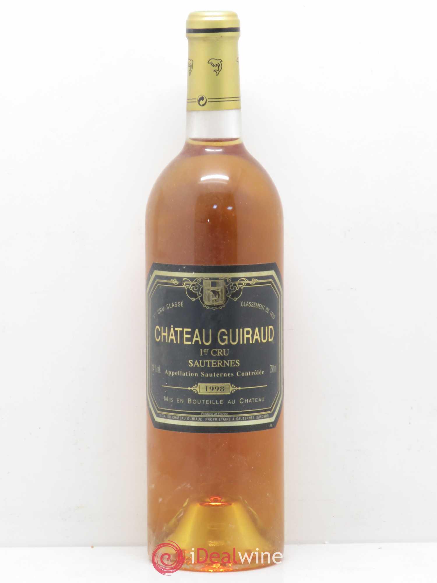 Chteau Guiraud 1er Grand Cru Class 1998