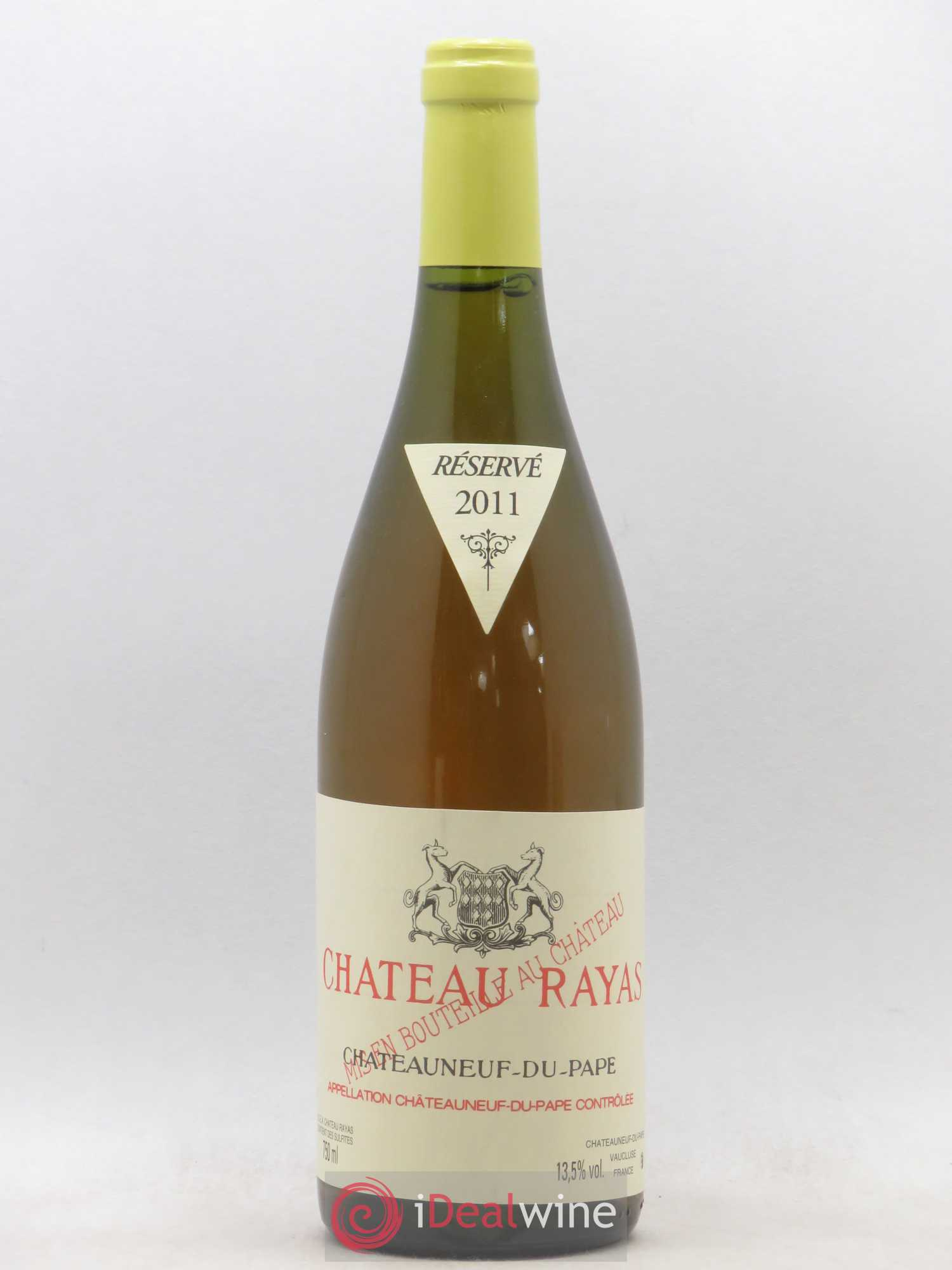 Châteauneuf-du-Pape Château Rayas Reynaud  2011 - Lot of 1 Bottle