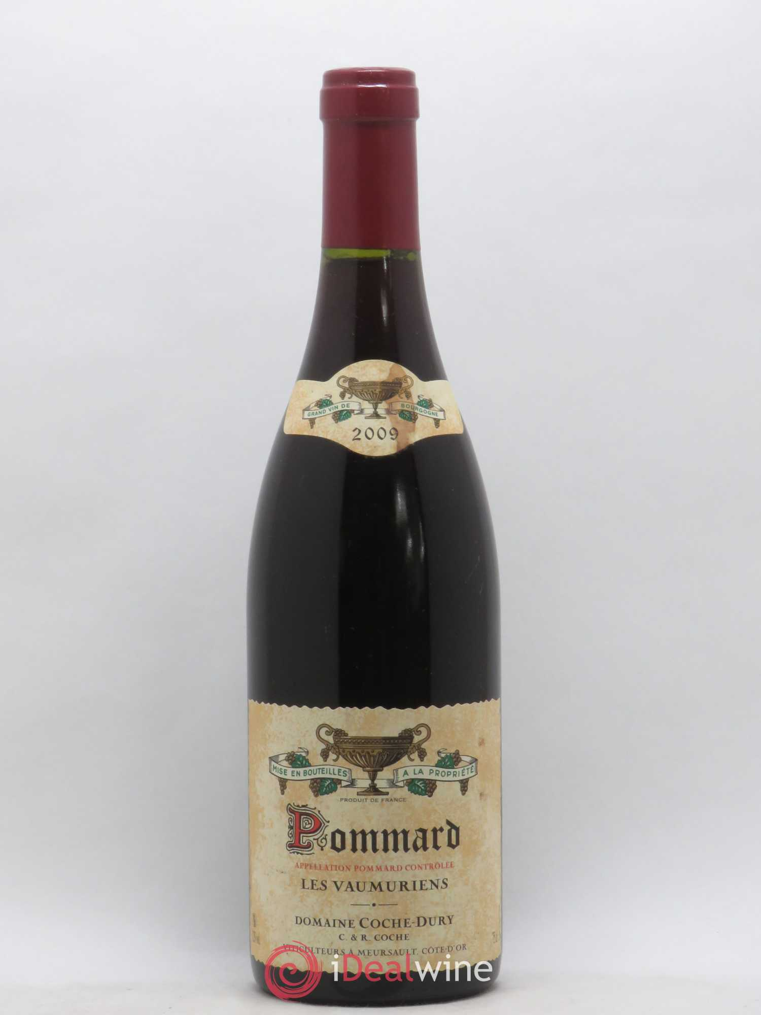 Pommard les Vaumuriens Coche Dury (Domaine)  2009 - Lot of 1 Bottle
