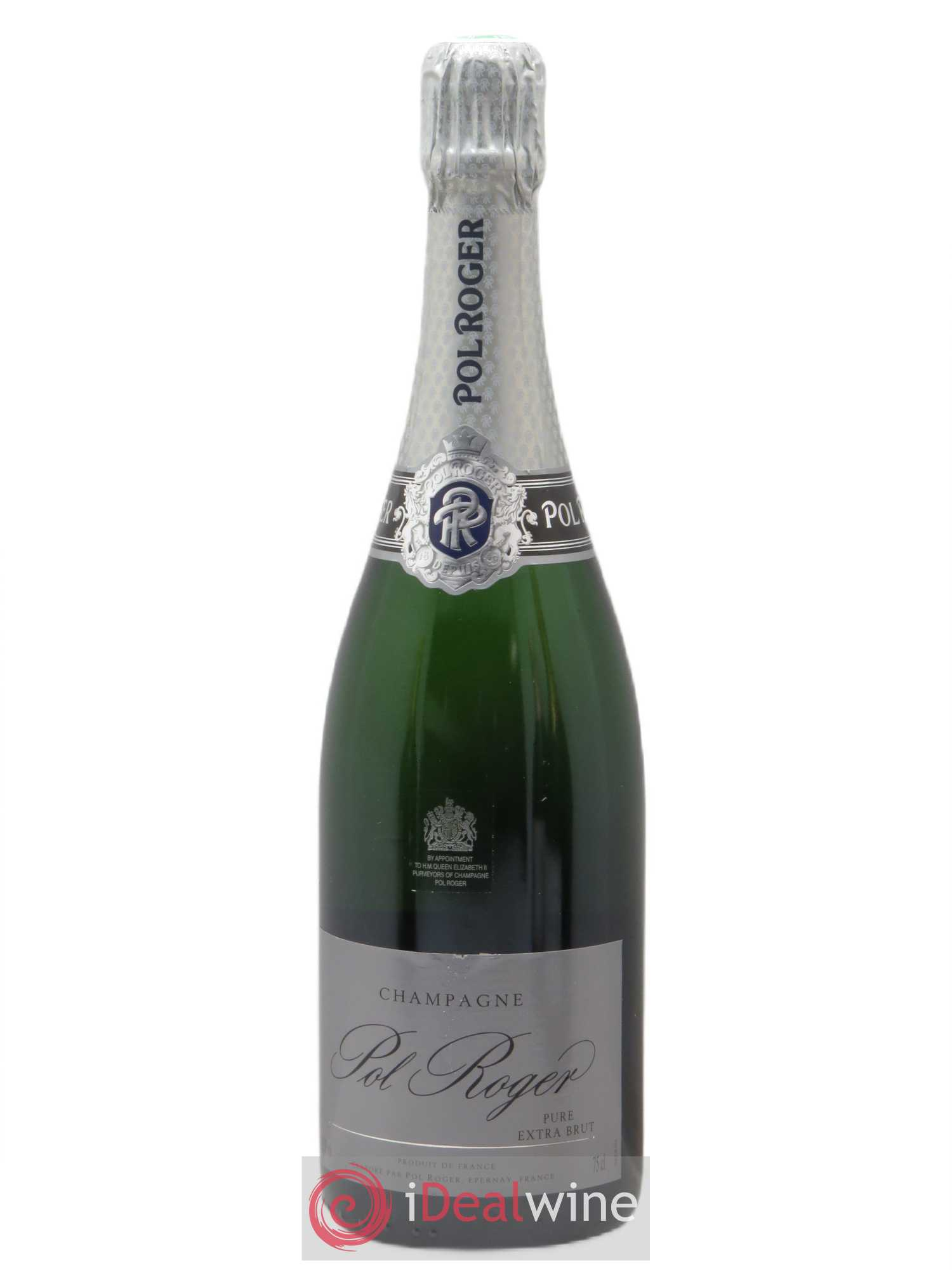 Pure Extra-Brut Pol Roger   - Lot of 1 Bottle