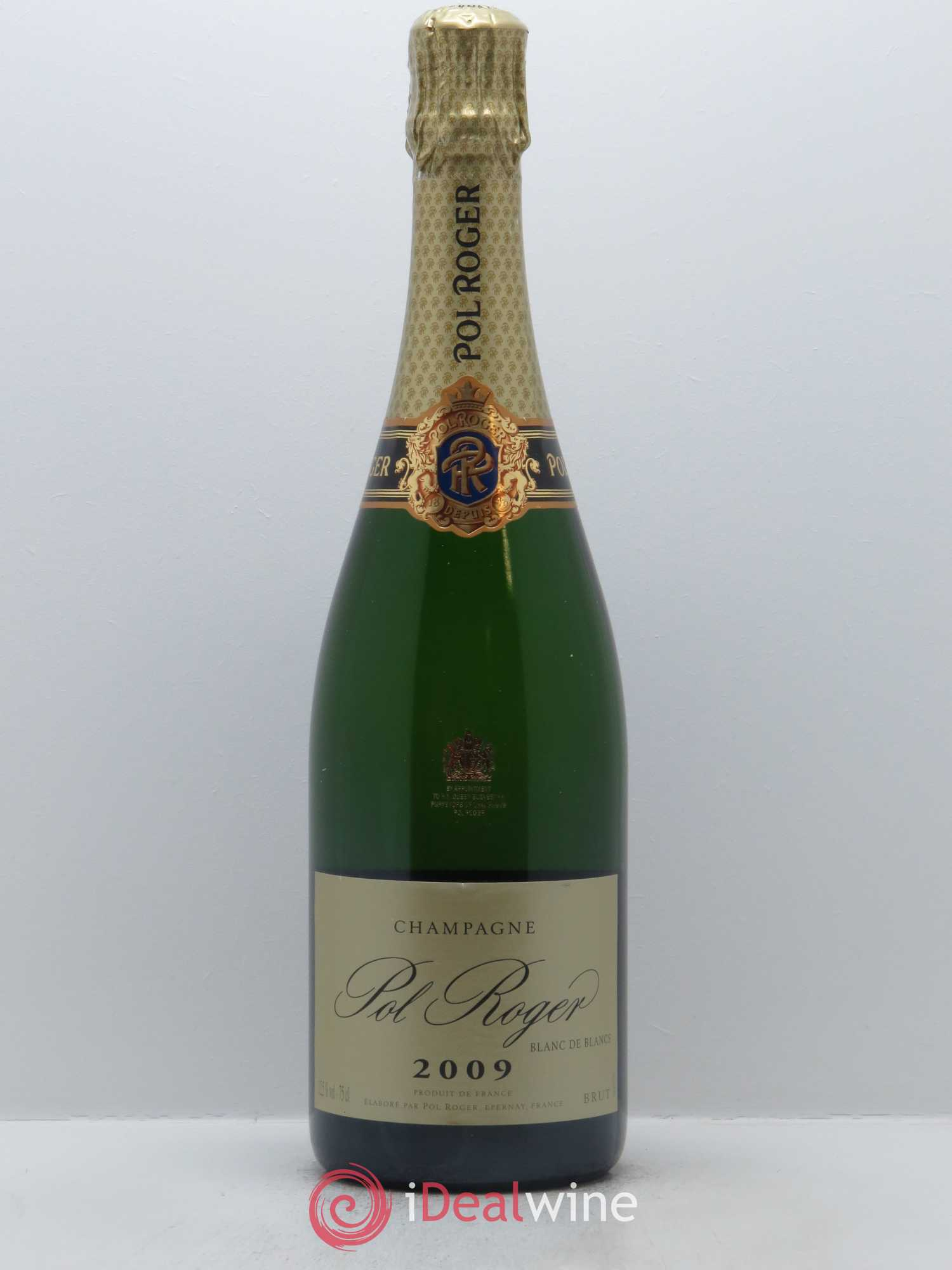 Blanc de blancs Pol Roger  2009 - Lot of 1 Bottle