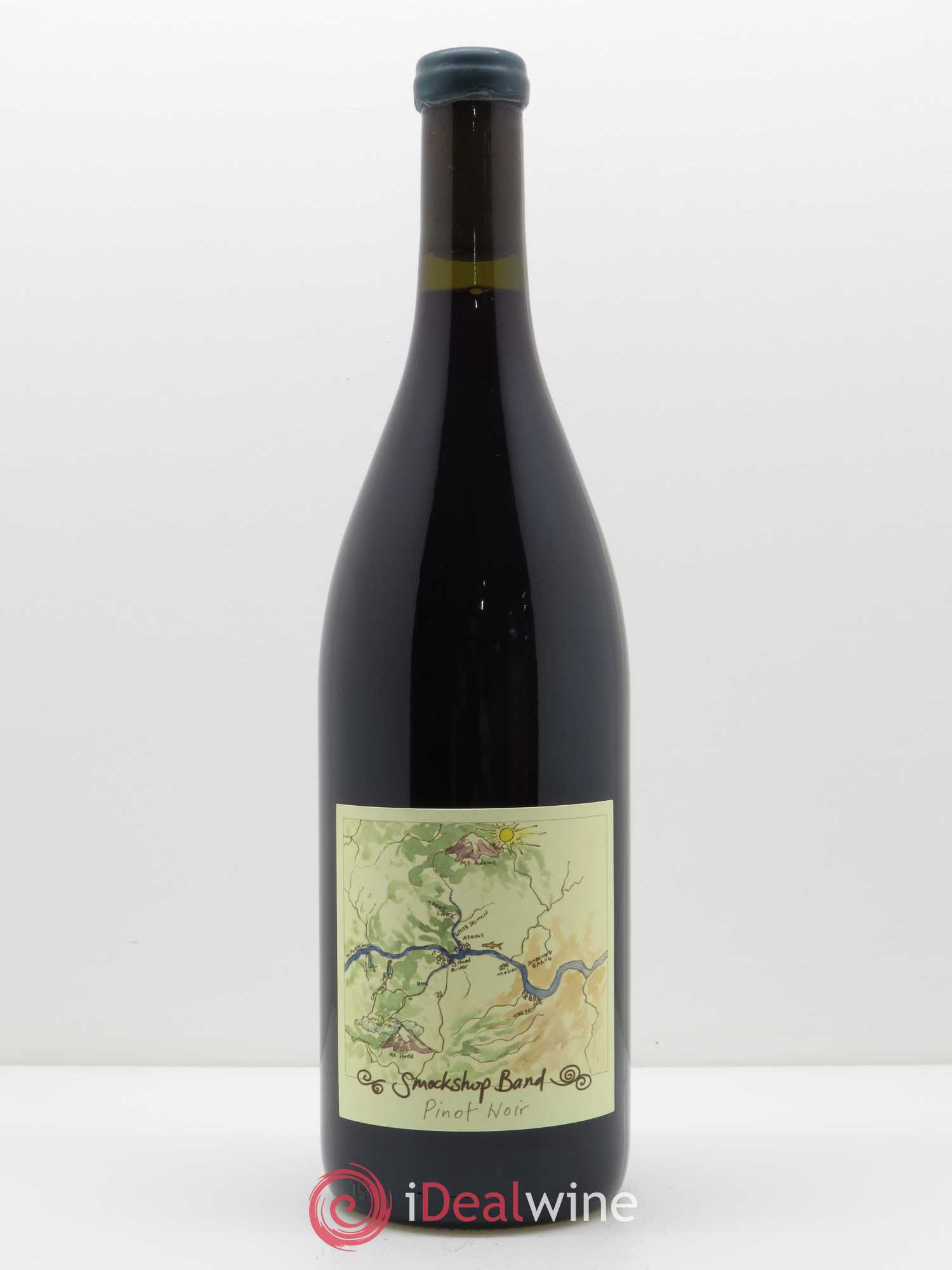 Columbia Gorge Smockshop Band Spring Ephemeral Pinot Noir Hiyu Farm  2017 - Lot de 1 Bouteille