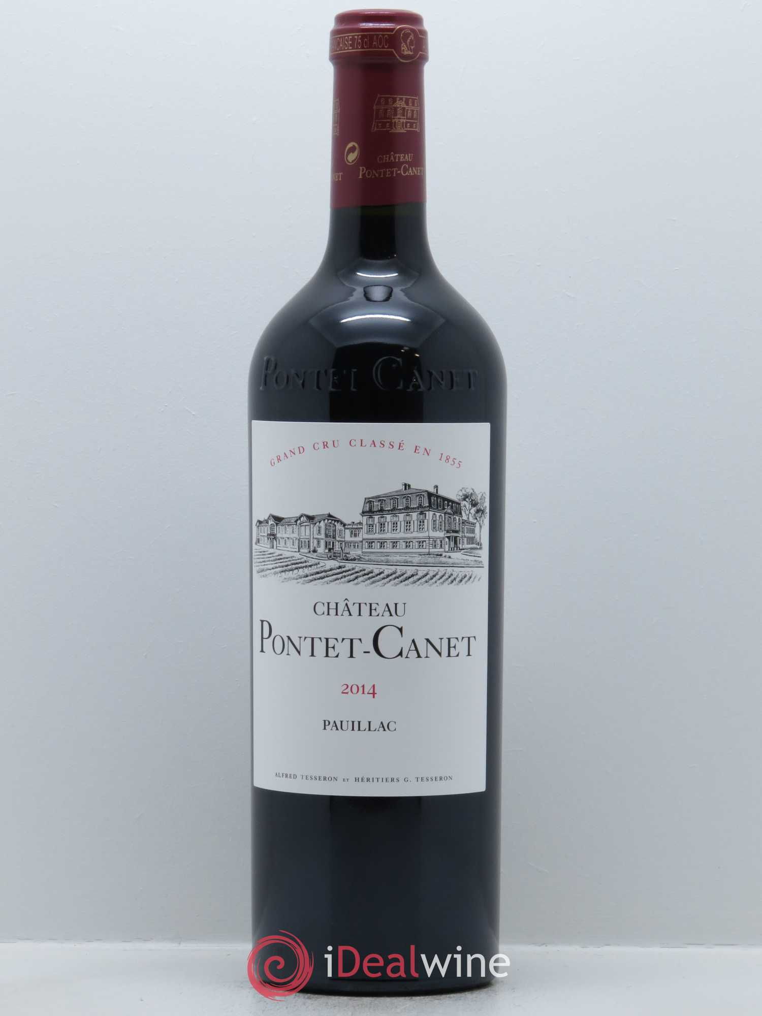 Château Pontet Canet 5ème Grand Cru Classé  2014 - Lot of 1 Bottle