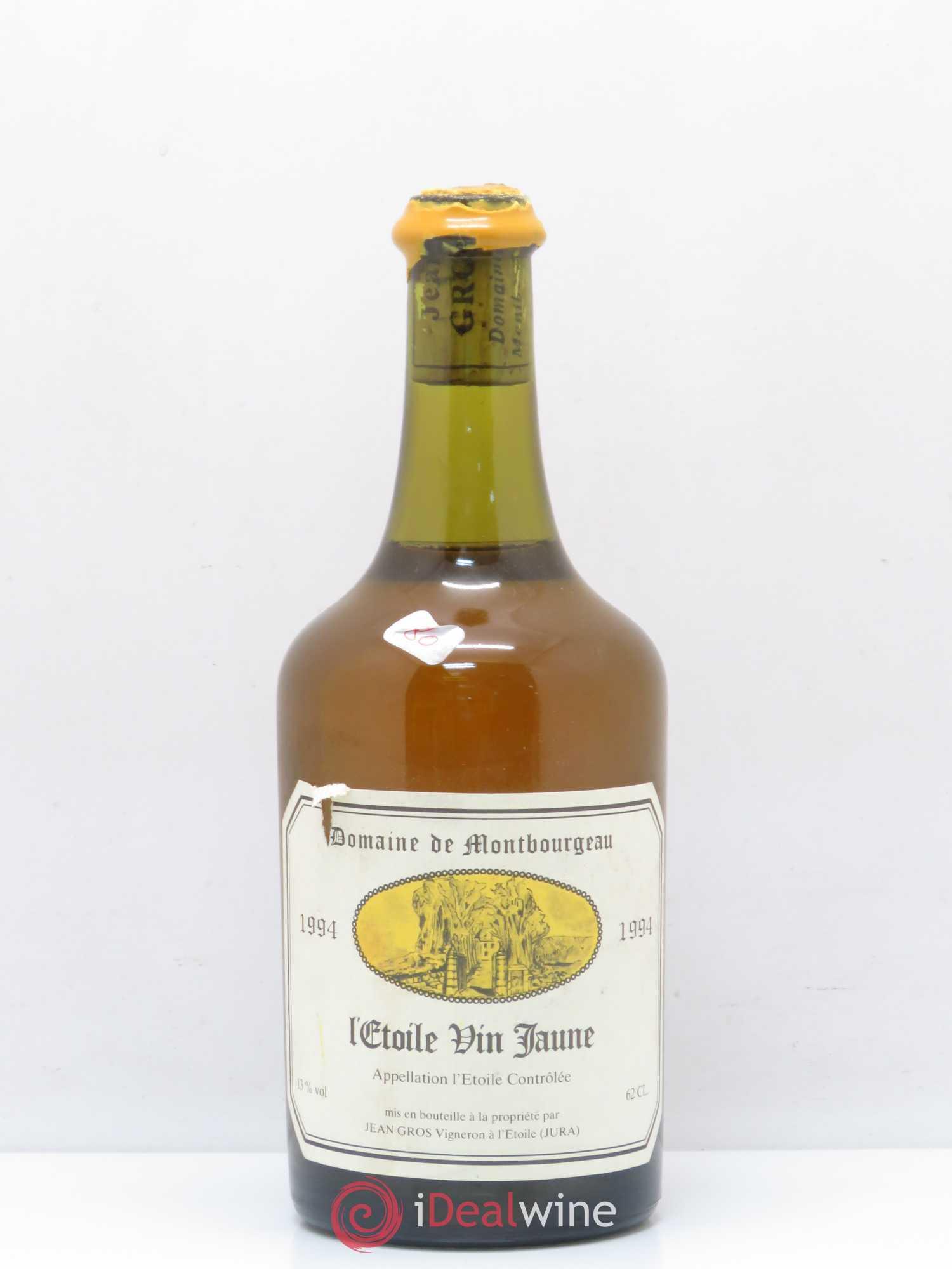 Letoile Vin Jaune Domaine De Montbourgeau 1994