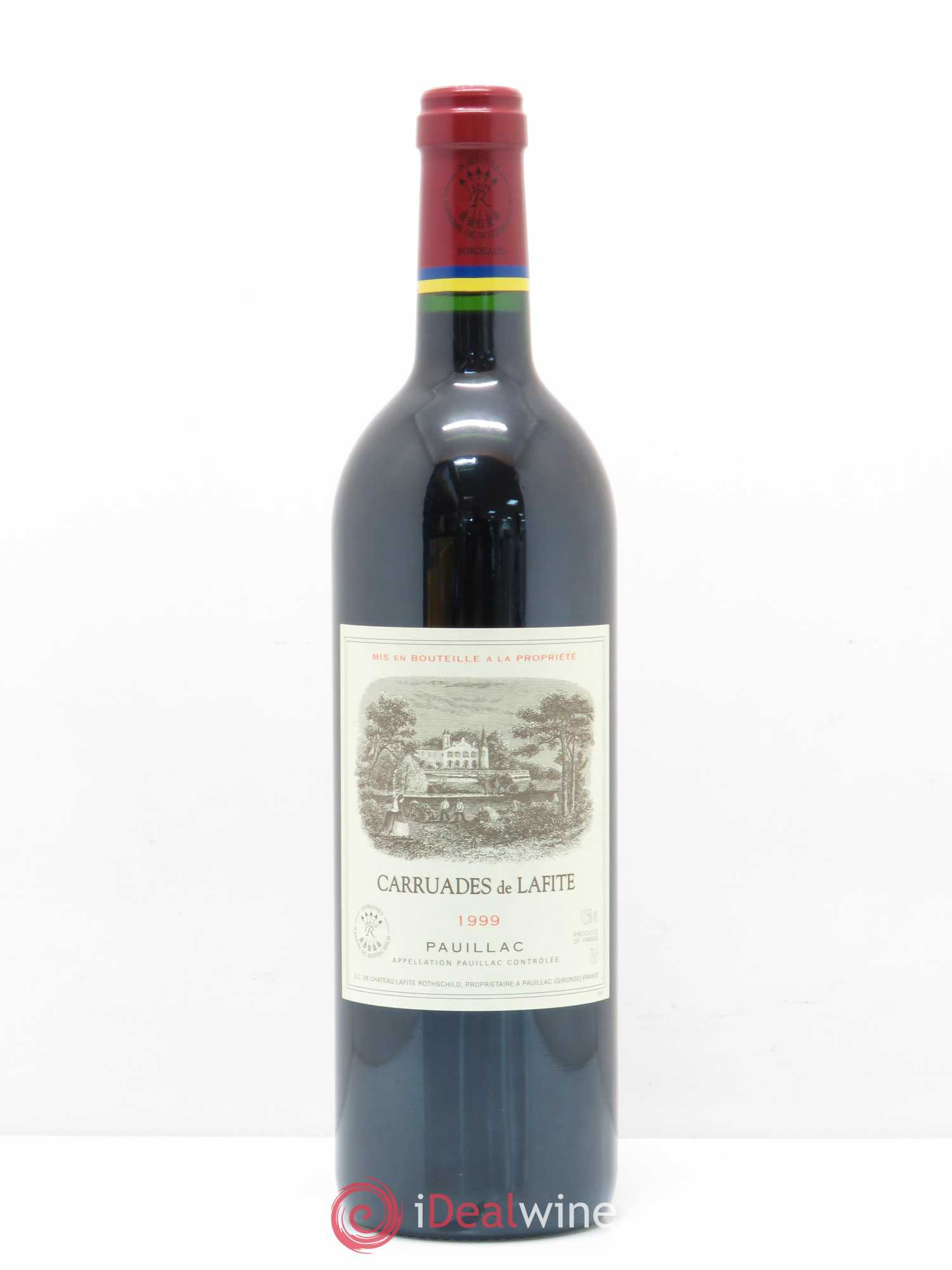 Carruades de Lafite Rothschild Second vin  1999 - Lot de 1 Bouteille
