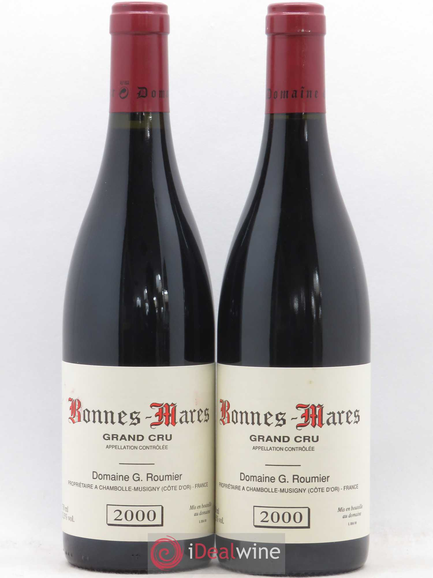 Bonnes-Mares Grand Cru Georges Roumier (Domaine)  2000 - Lot of 2 Bottles