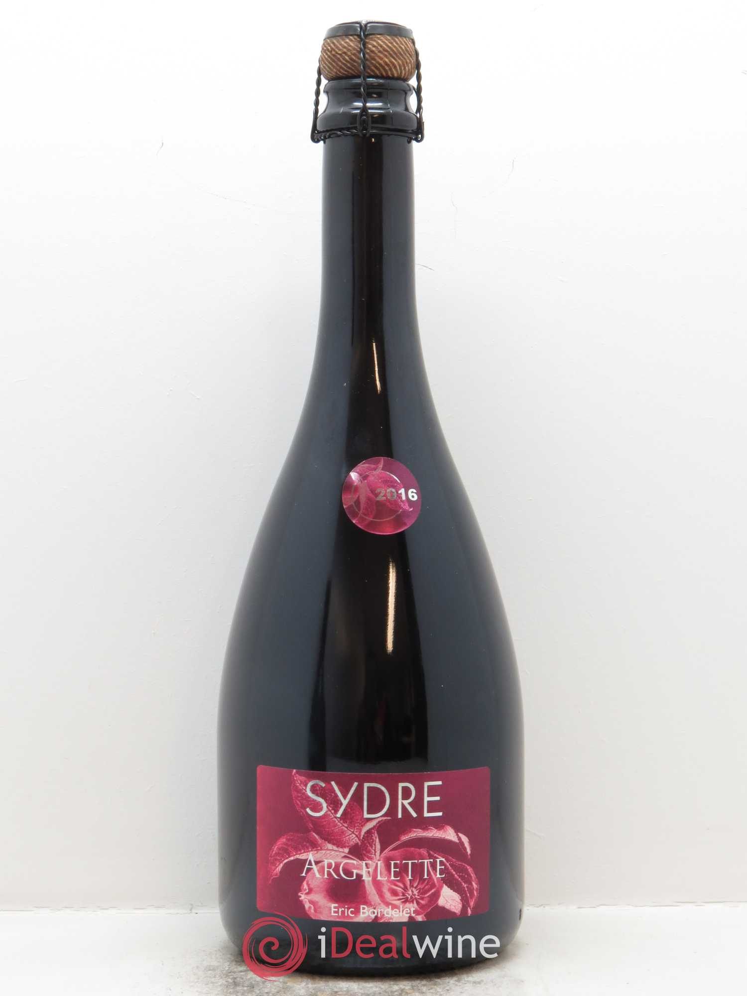 Mayenne Sydre Argelette Eric Bordelet  2016 - Lot of 1 Bottle