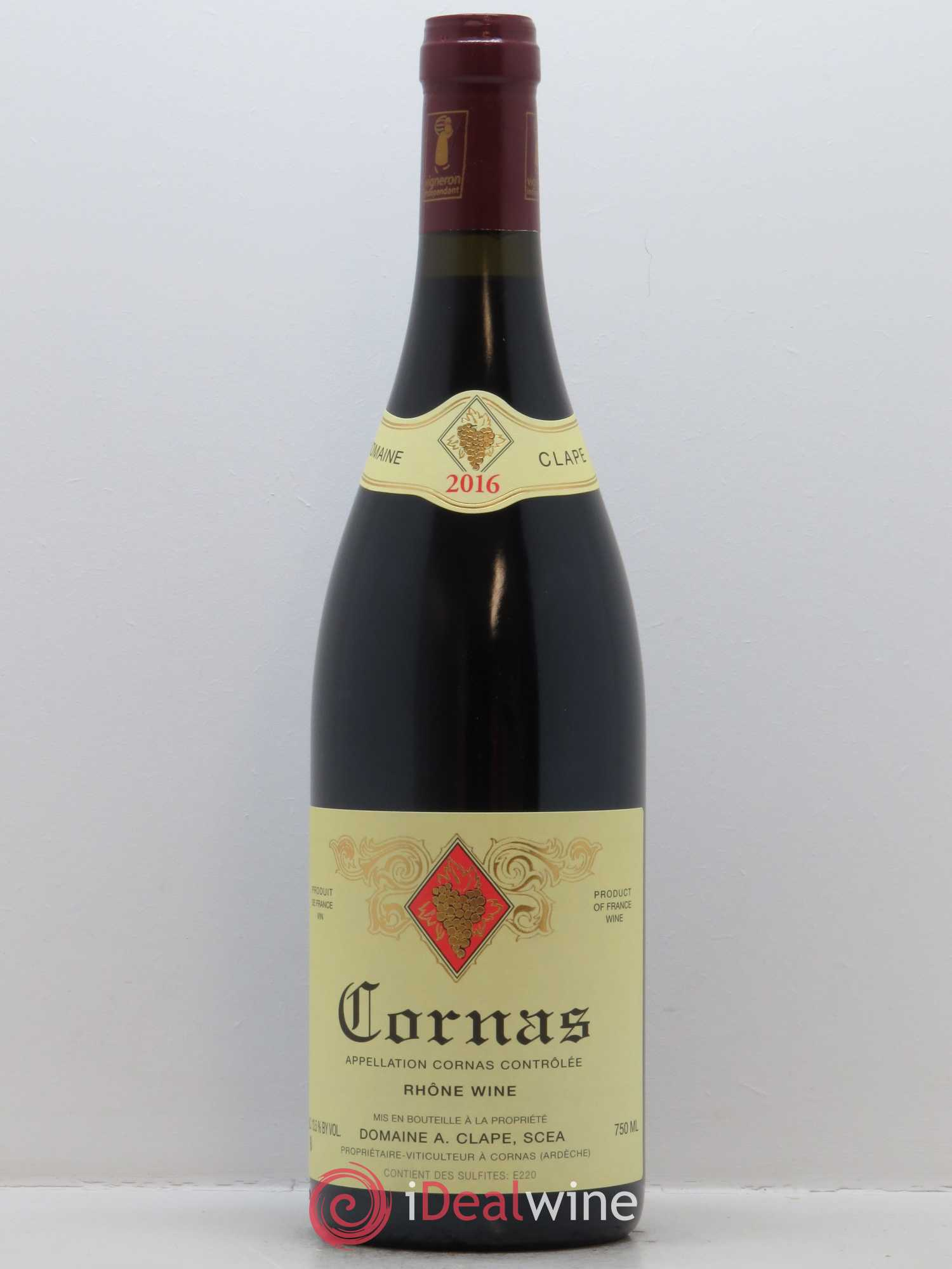 Cornas Auguste Clape  2016 - Lot of 1 Bottle
