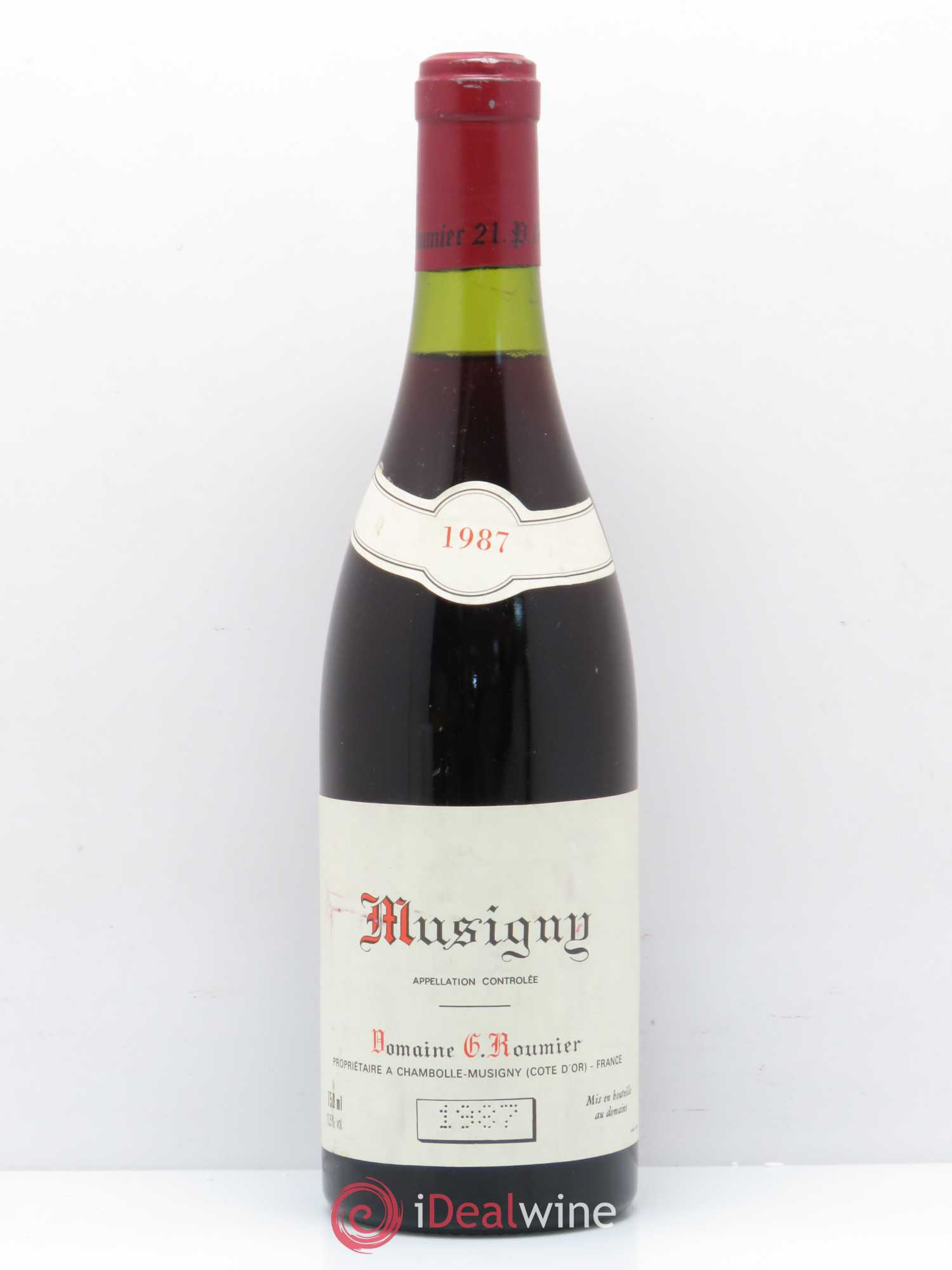 Musigny Grand Cru Georges Roumier (Domaine)  1987 - Lot de 1 Bouteille