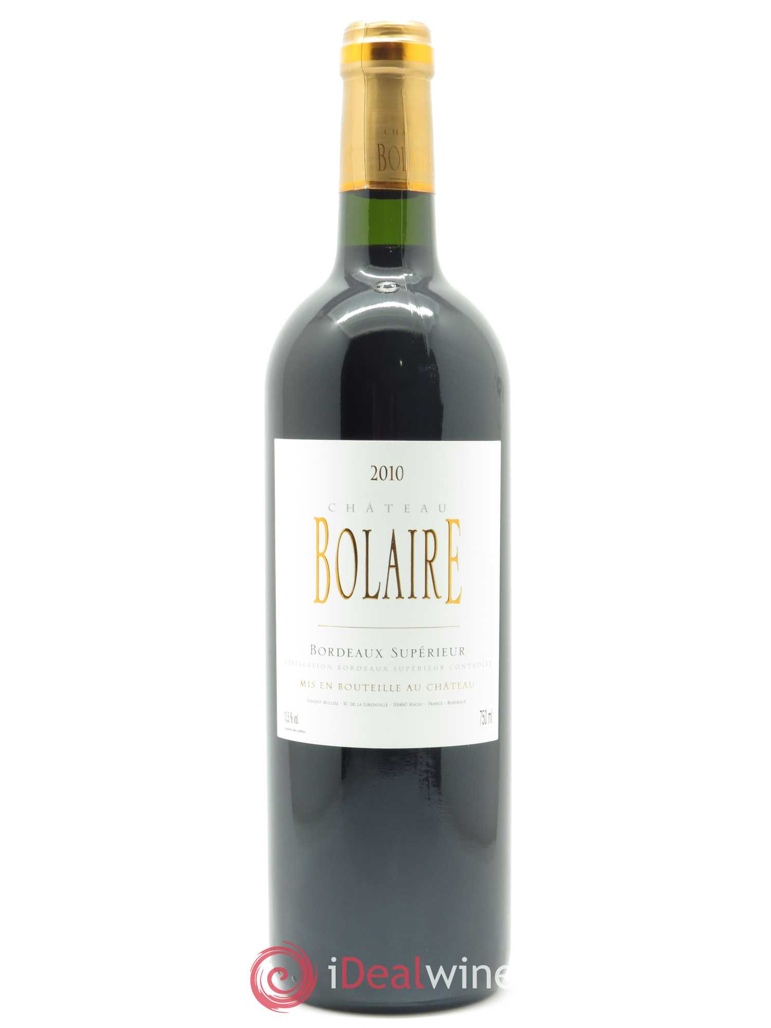 Bolaire  2010 - Lot of 1 Bottle