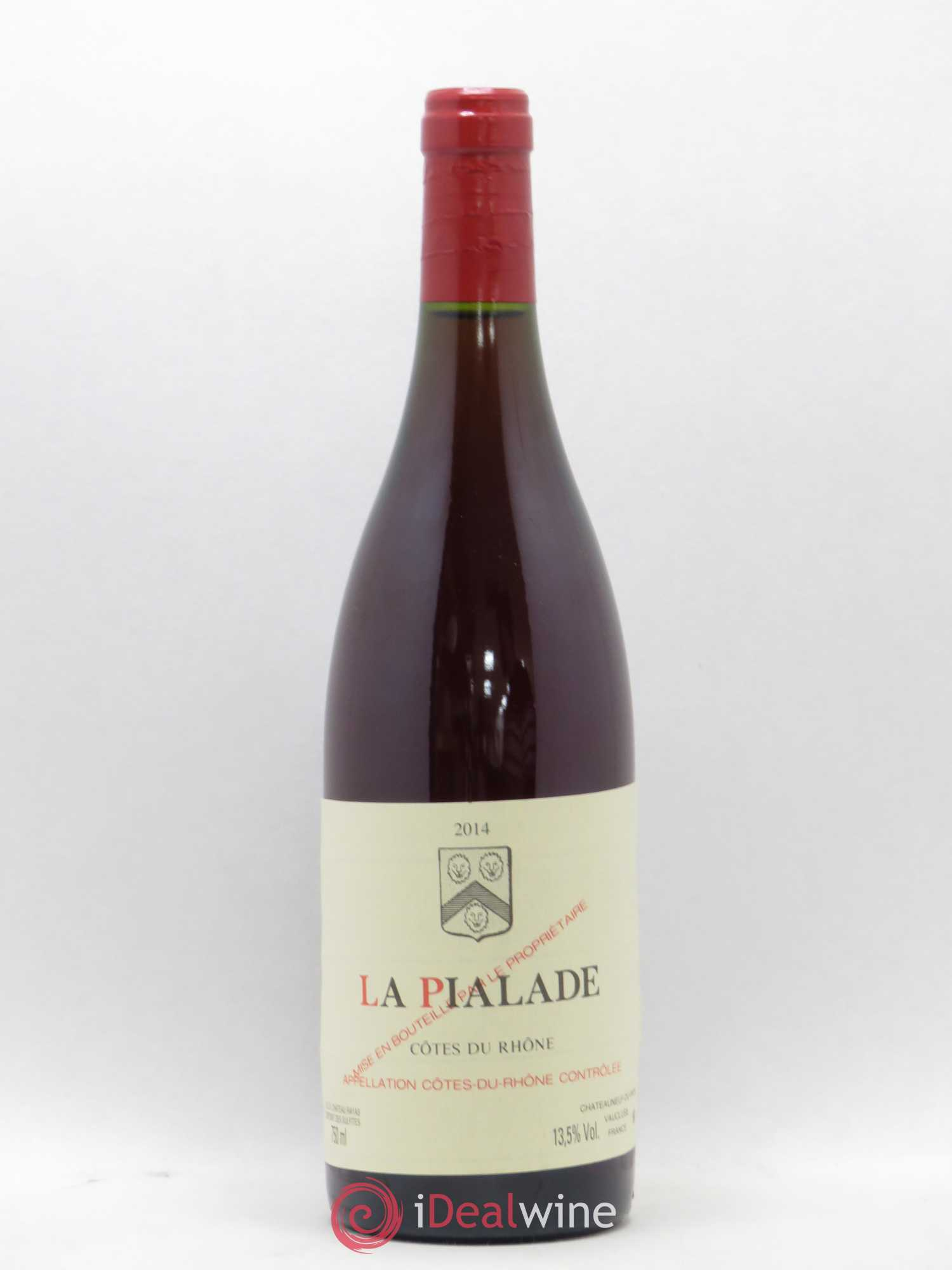 Côtes du Rhône La Pialade Emmanuel Reynaud  2014 - Lot of 1 Bottle