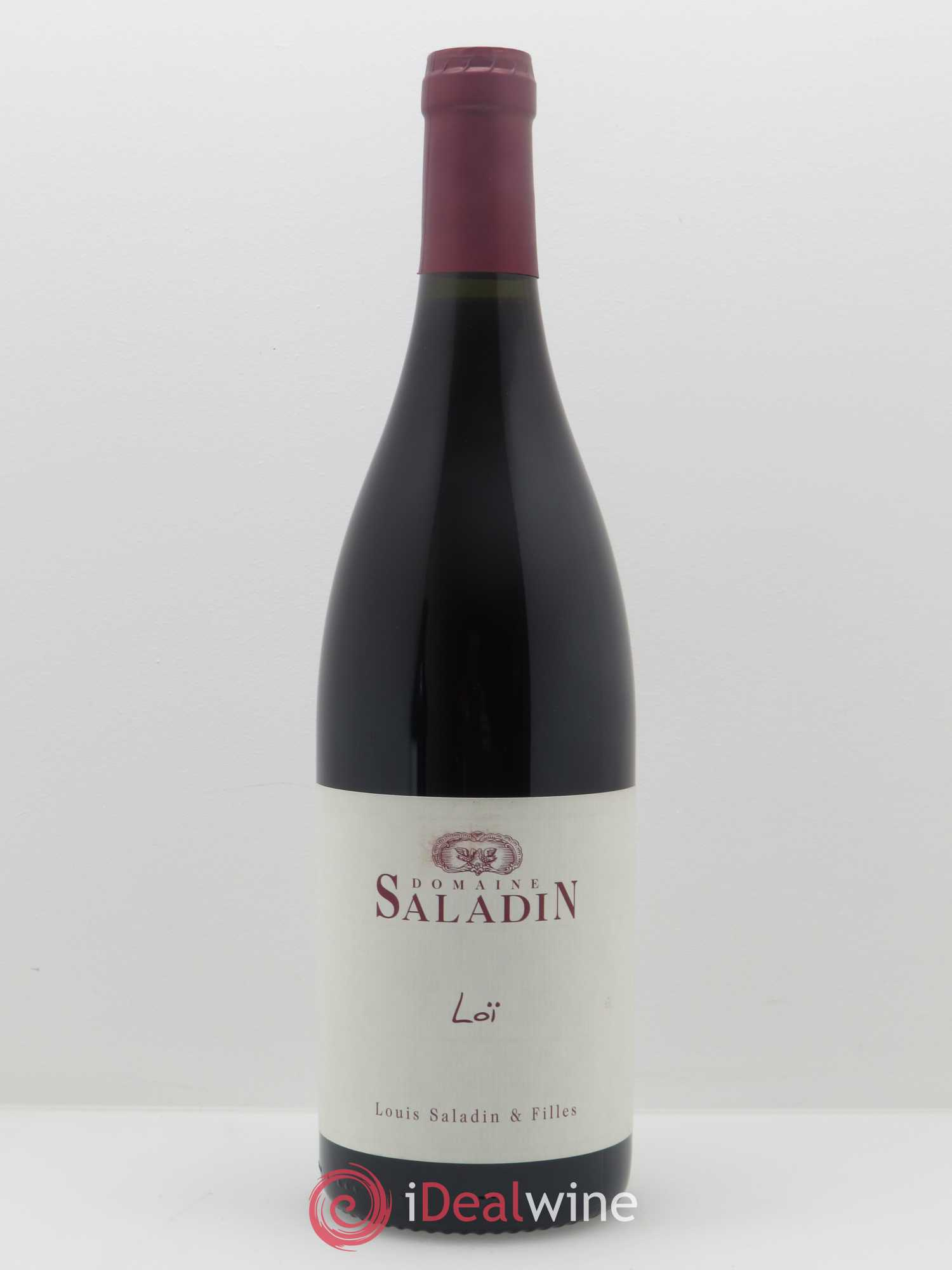 Côtes du Rhône Loï Saladin  2017 - Lot of 1 Bottle