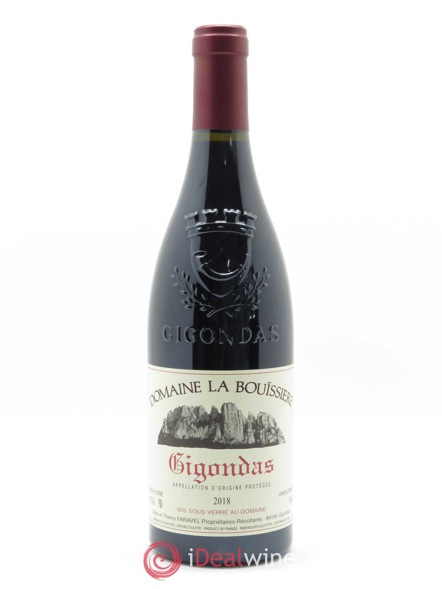 Gigondas La Bouïssière (Domaine)  2018 - Lot of 1 Bottle