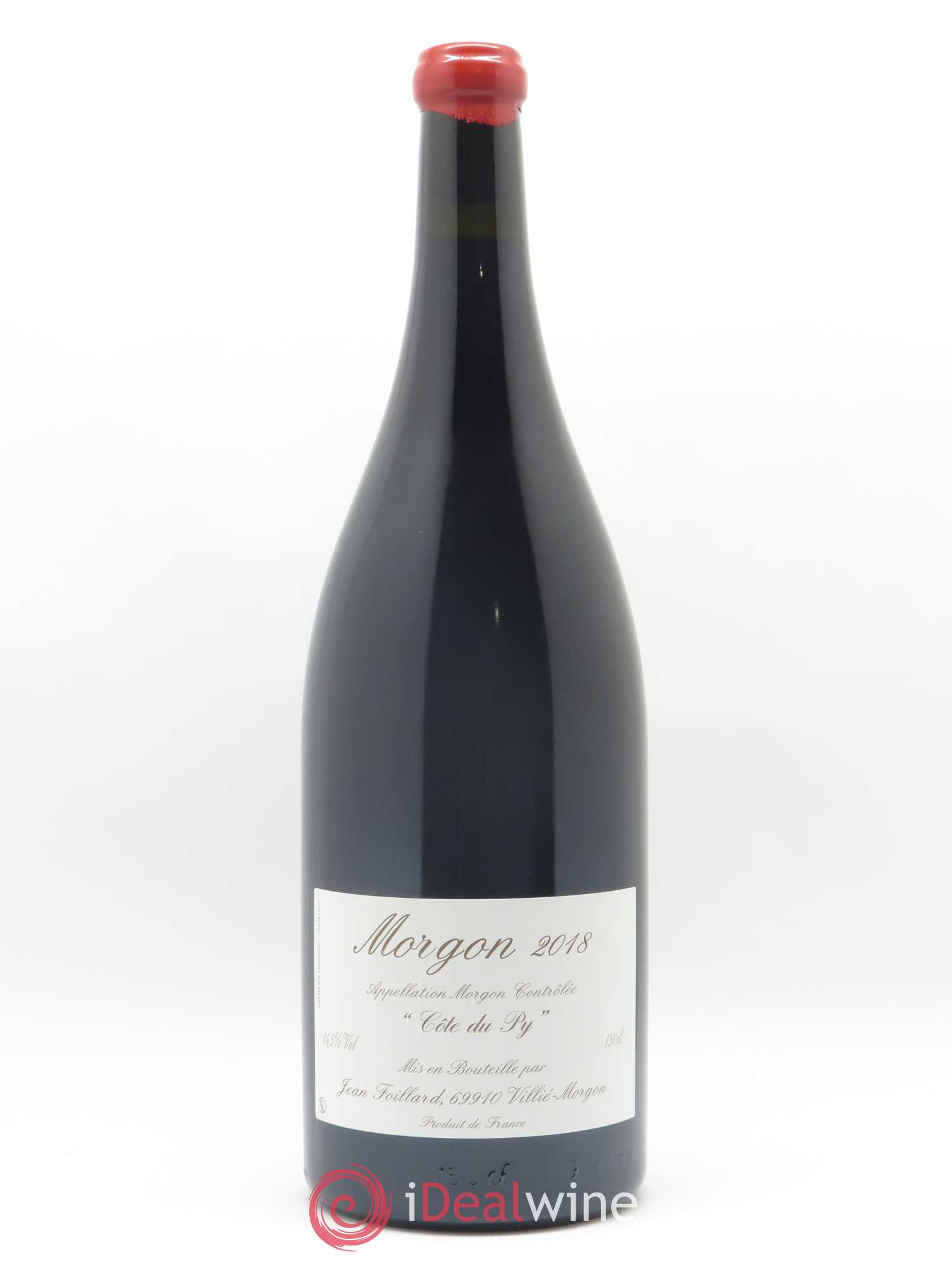 Morgon Côte du Py Jean Foillard  2018 - Lot of 1 Magnum