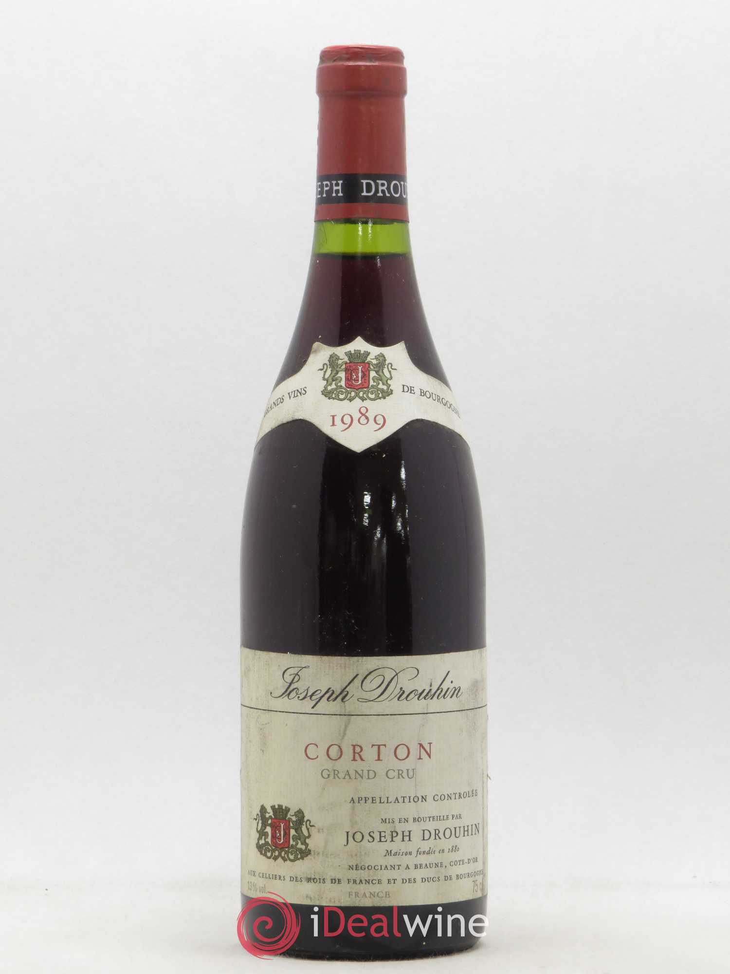Corton Grand Cru Joseph Drouhin  1989 - Lot of 1 Bottle