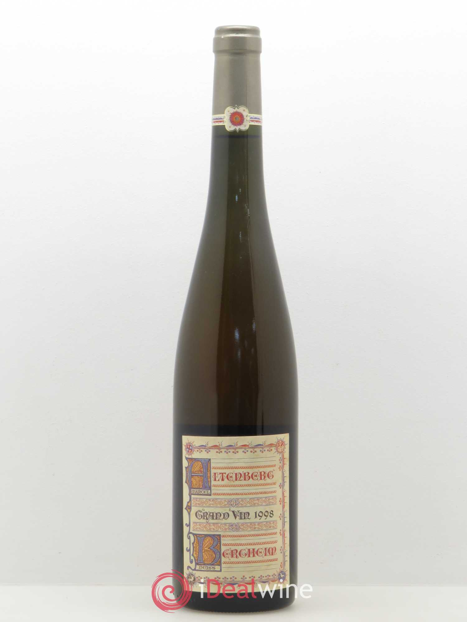 Altenberg de Bergheim Grand Cru Marcel Deiss (Domaine) (no reserve) 1998 - Lot of 1 Bottle