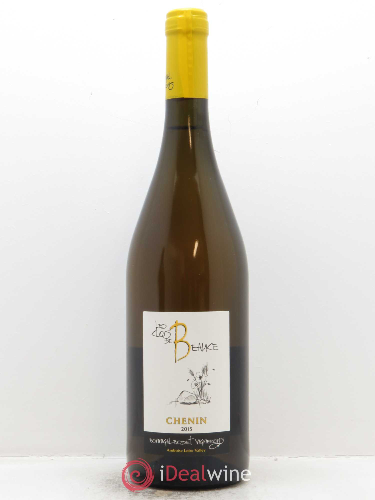 Touraine Amboise Le Clos de Beauce Bonnigal-Bodet  2015 - Lot de 1 Bouteille