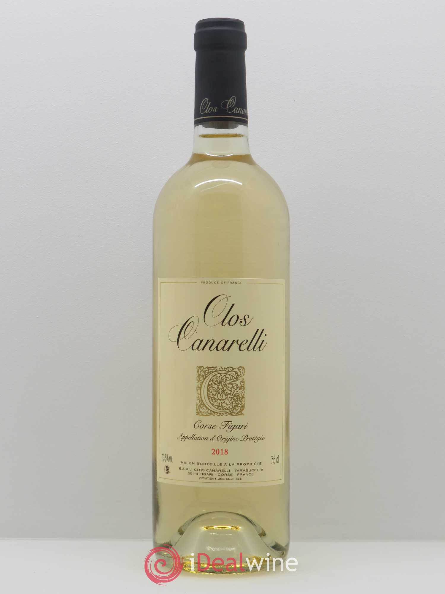 Figari Clos Canarelli  2018 - Lot of 1 Bottle
