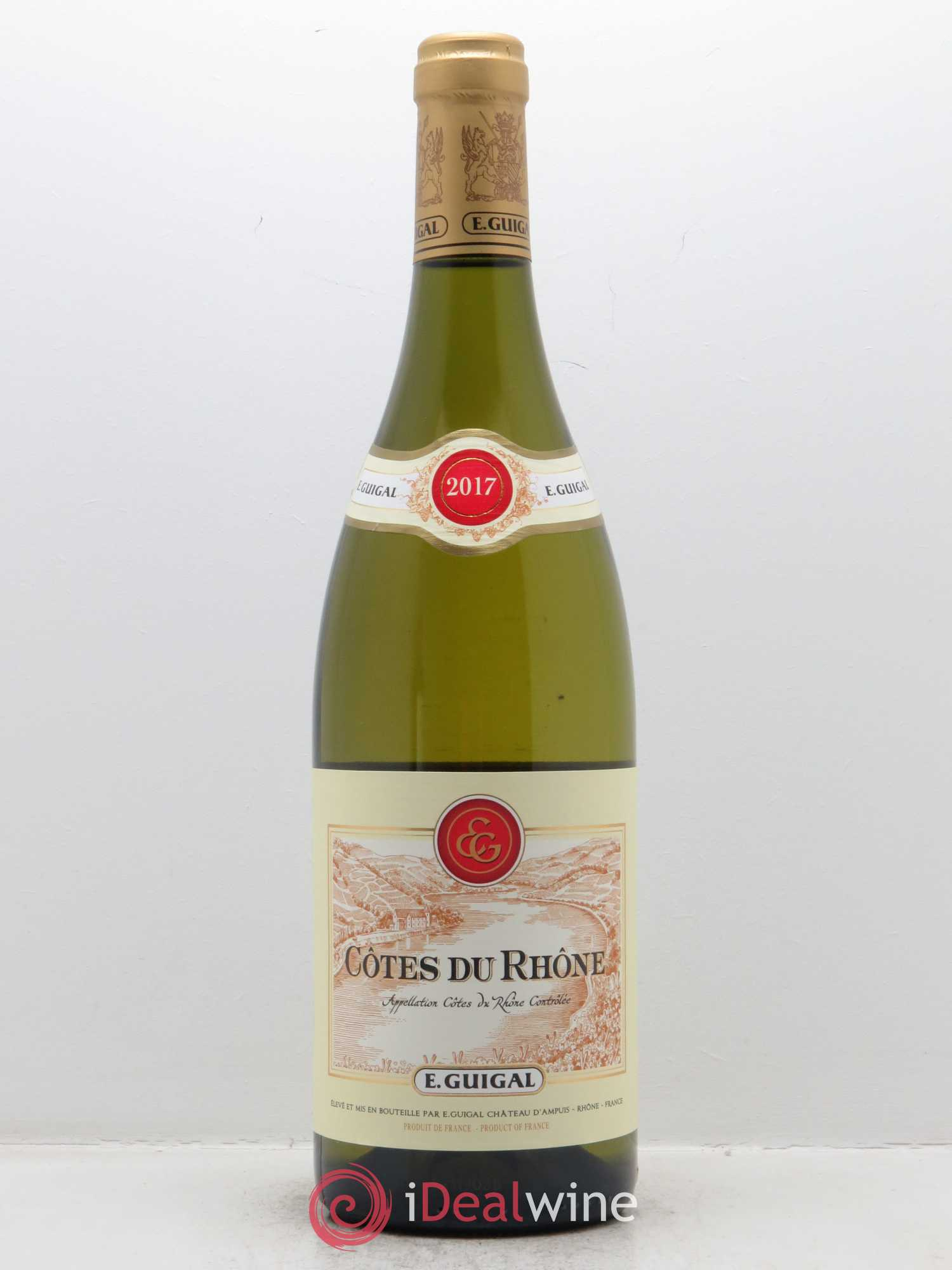 Côtes du Rhône Guigal  2017 - Lot of 1 Bottle
