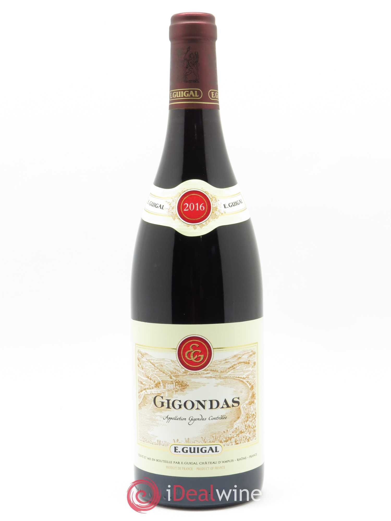 Gigondas Guigal  2016 - Lot of 1 Bottle