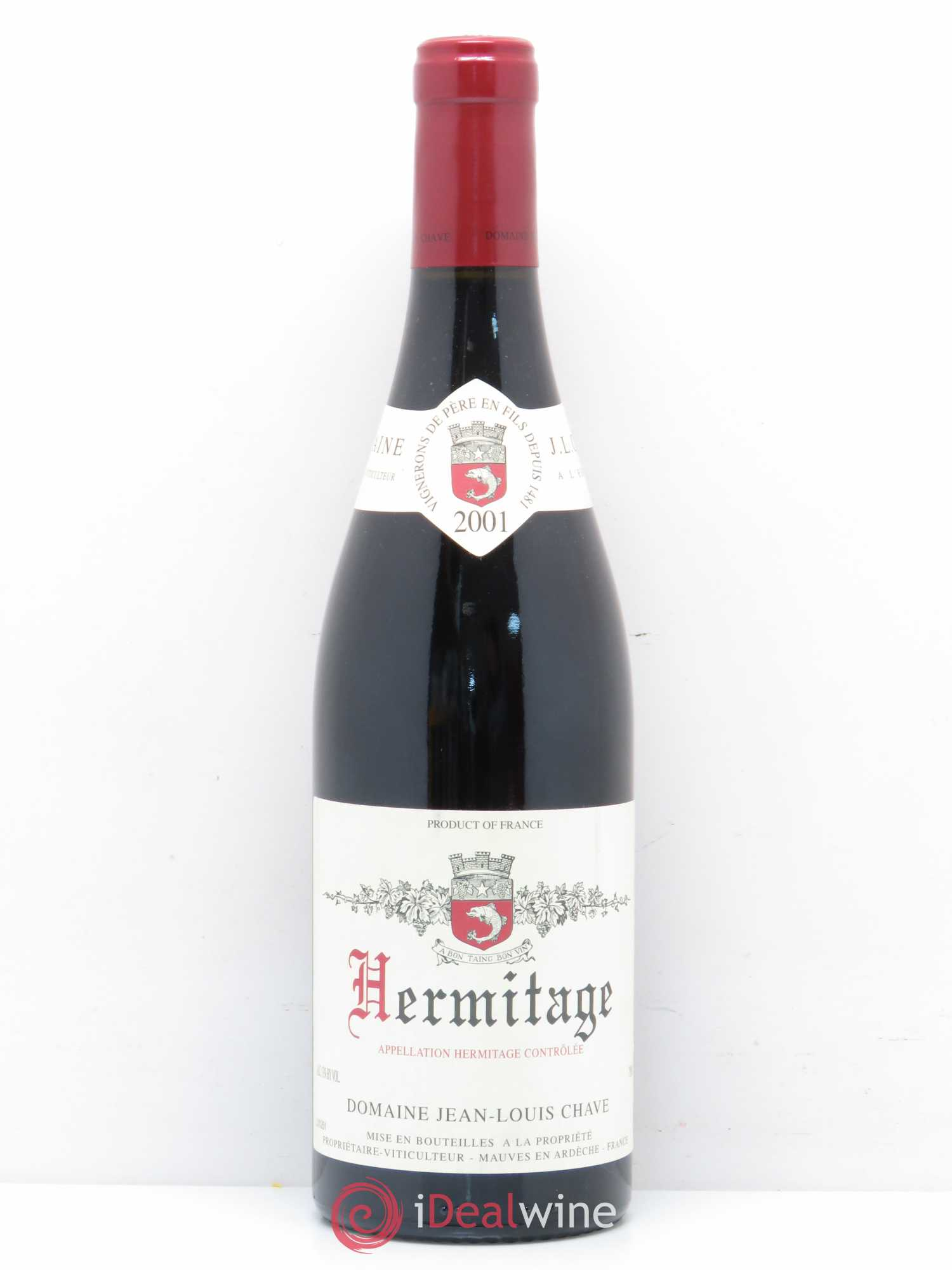 Hermitage Jean Louis Chave 2001