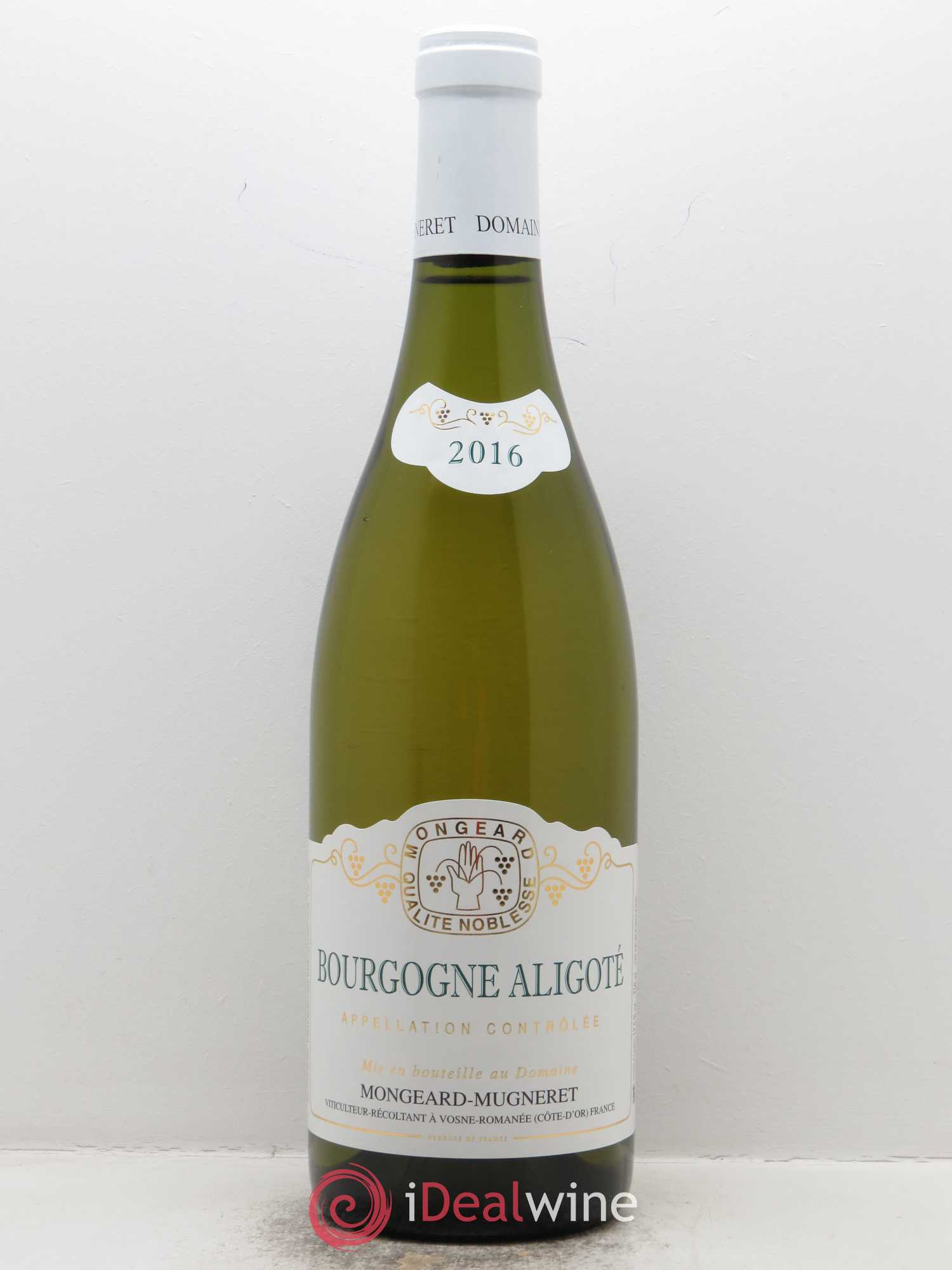 Bourgogne Aligoté Mongeard-Mugneret (Domaine)  2016 - Lot of 1 Bottle