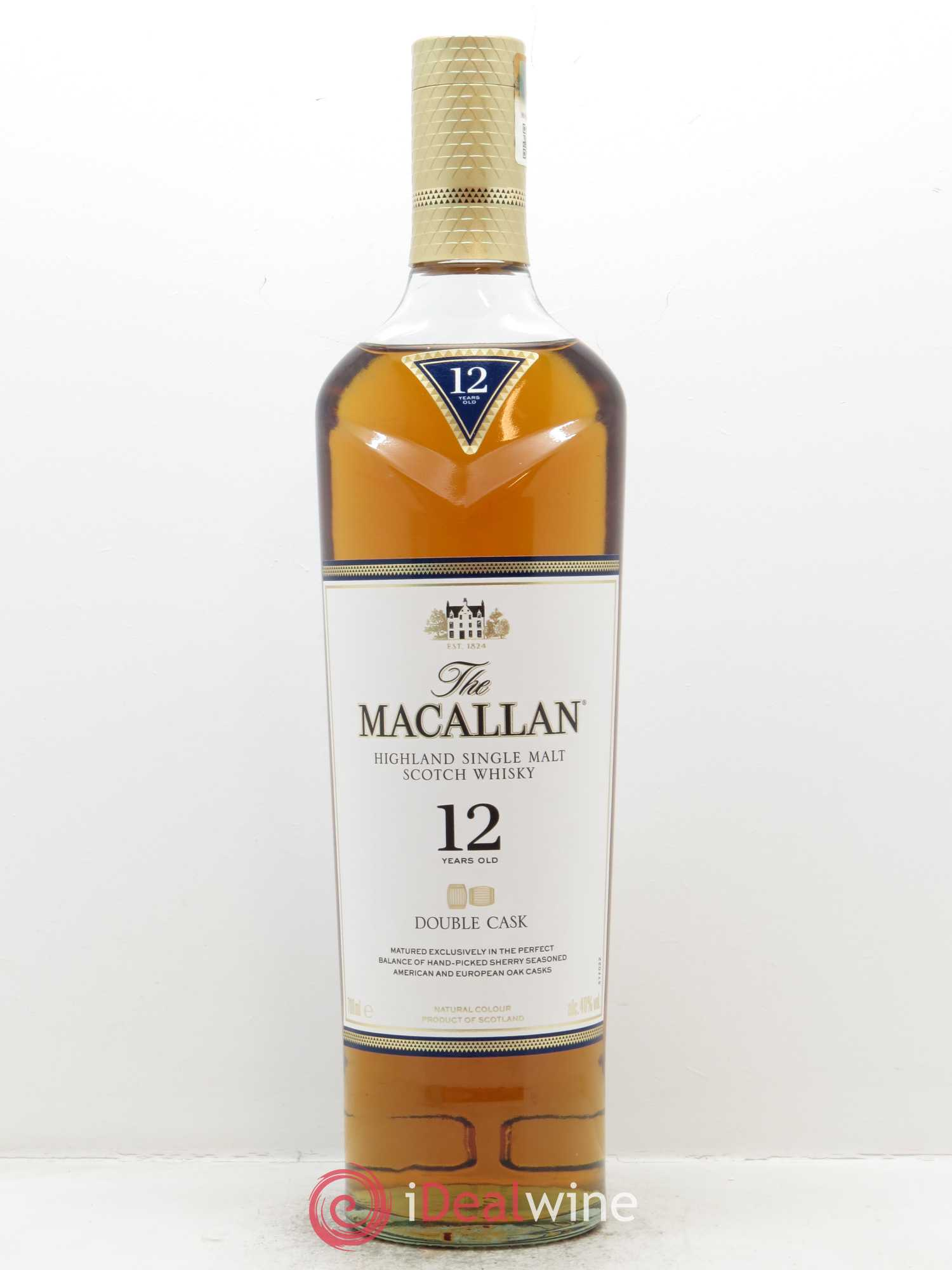 Whisky Double Cask 12 years Old The Macallan (70cl)  - Lot de 1 Bouteille
