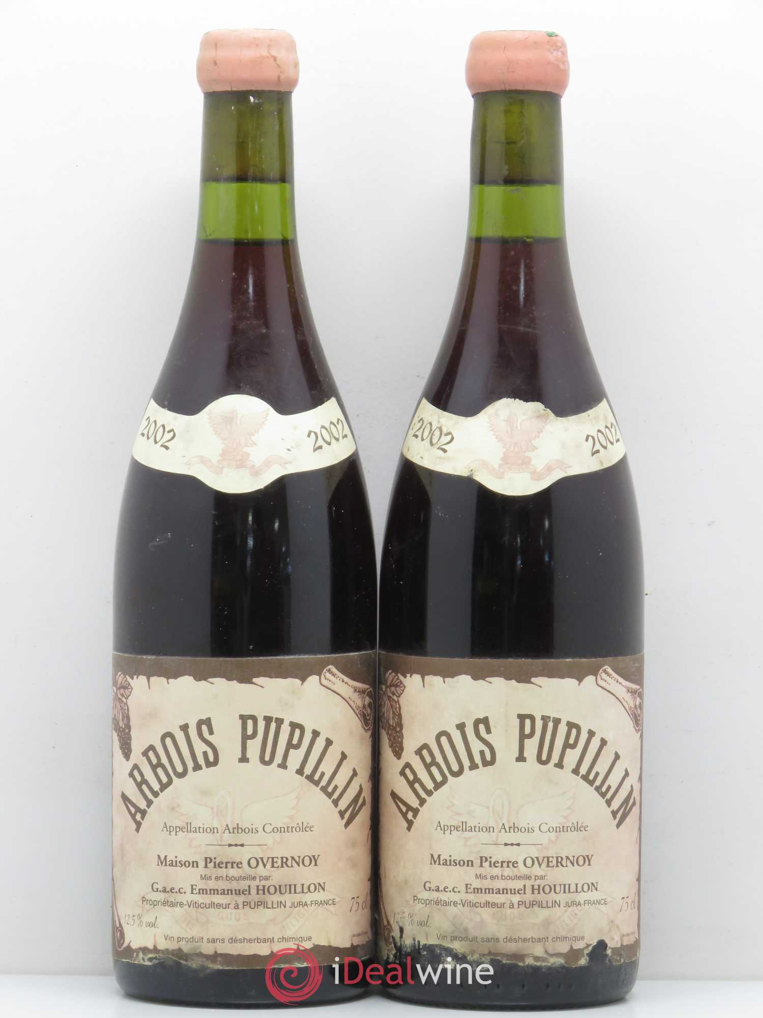 Arbois Pupillin Pierre Overnoy (Domaine)  2002 - Lot of 2 Bottles