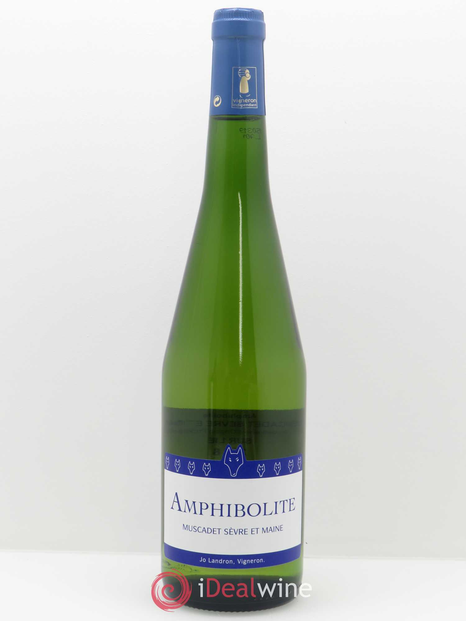 Muscadet-Sèvre-et-Maine Amphibolite Nature Jo Landron  2018 - Lot of 1 Bottle