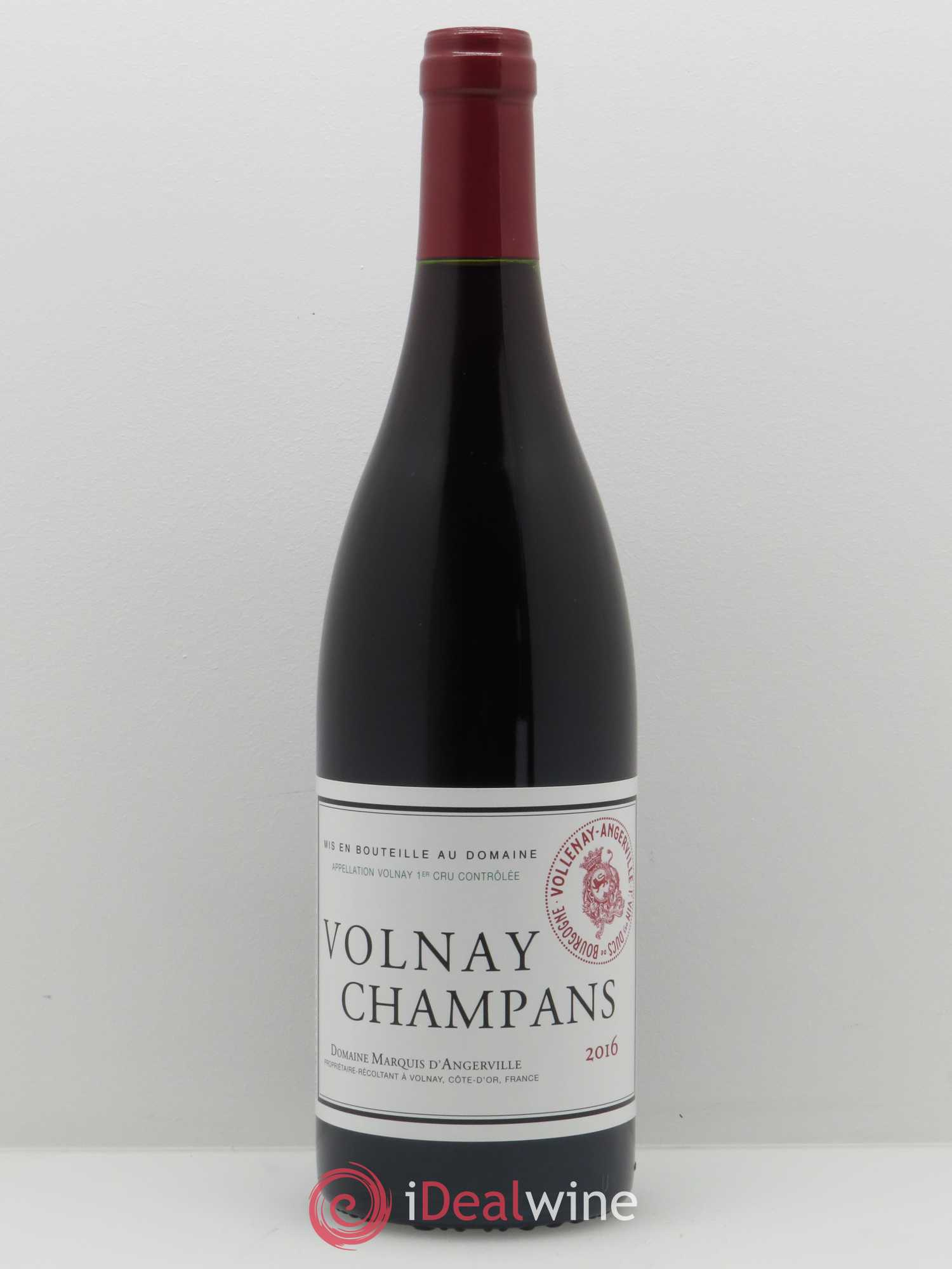 Volnay 1er Cru Champans Marquis d'Angerville (Domaine)