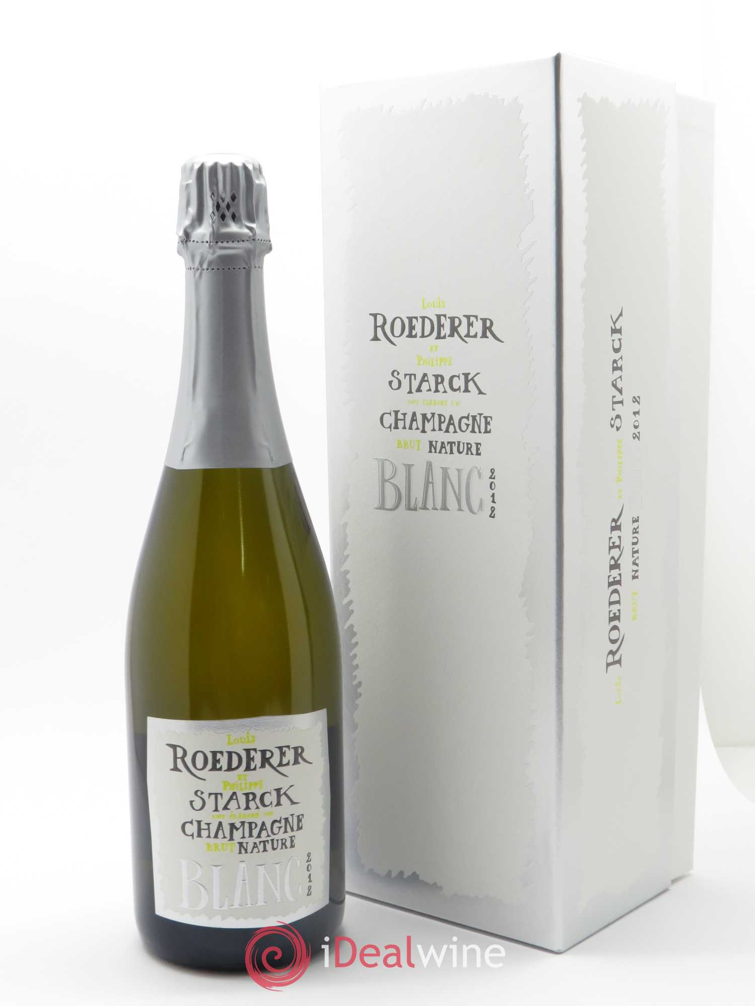 Brut Nature Louis Roederer Edition Limitée Philippe Starck 2012 - Lot of 1 Bottle