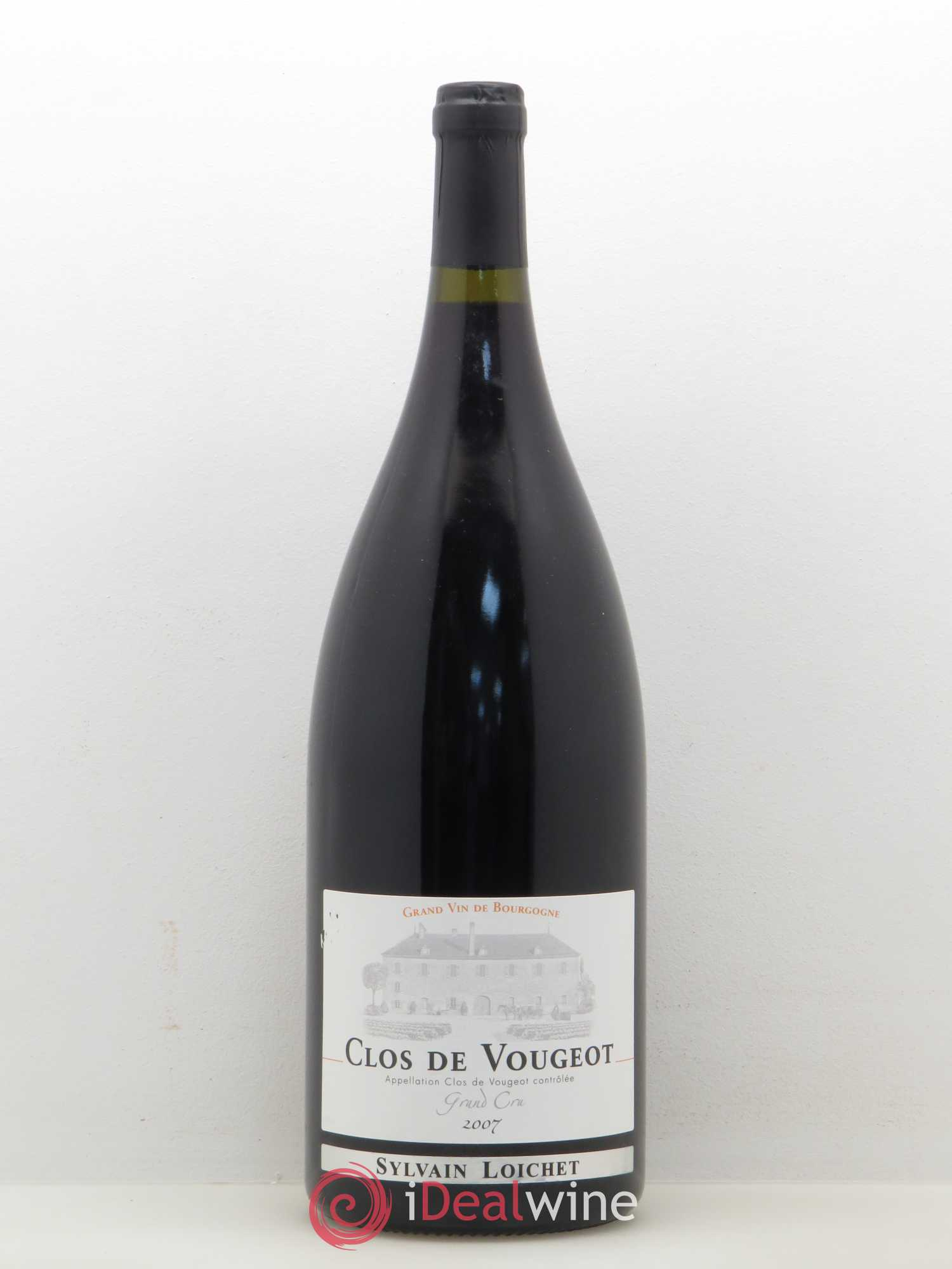 Grand Sylvain Clos De Vougeot Loichet 2007 Cru KJc1TlF